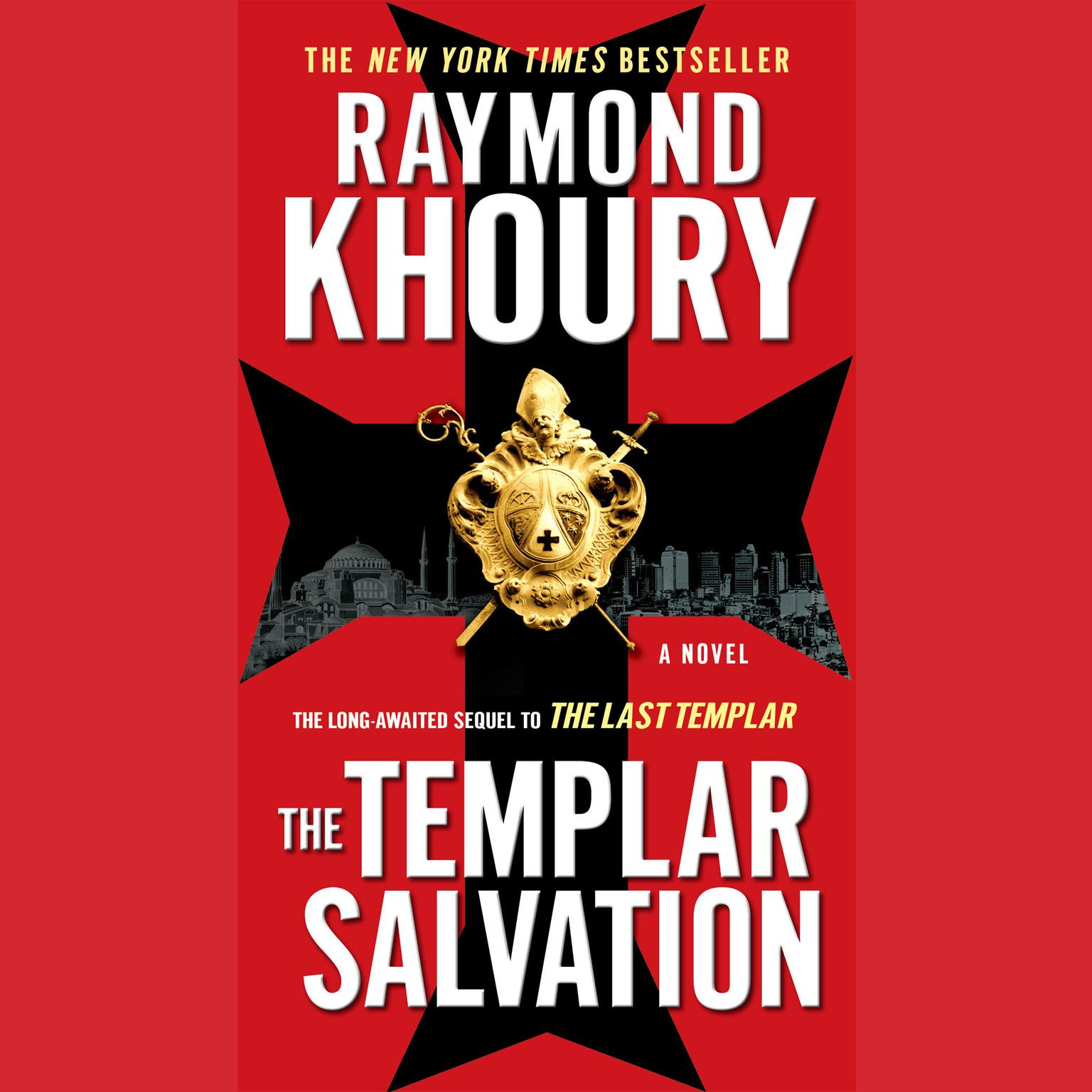 Printable The Templar Salvation Audiobook Cover Art