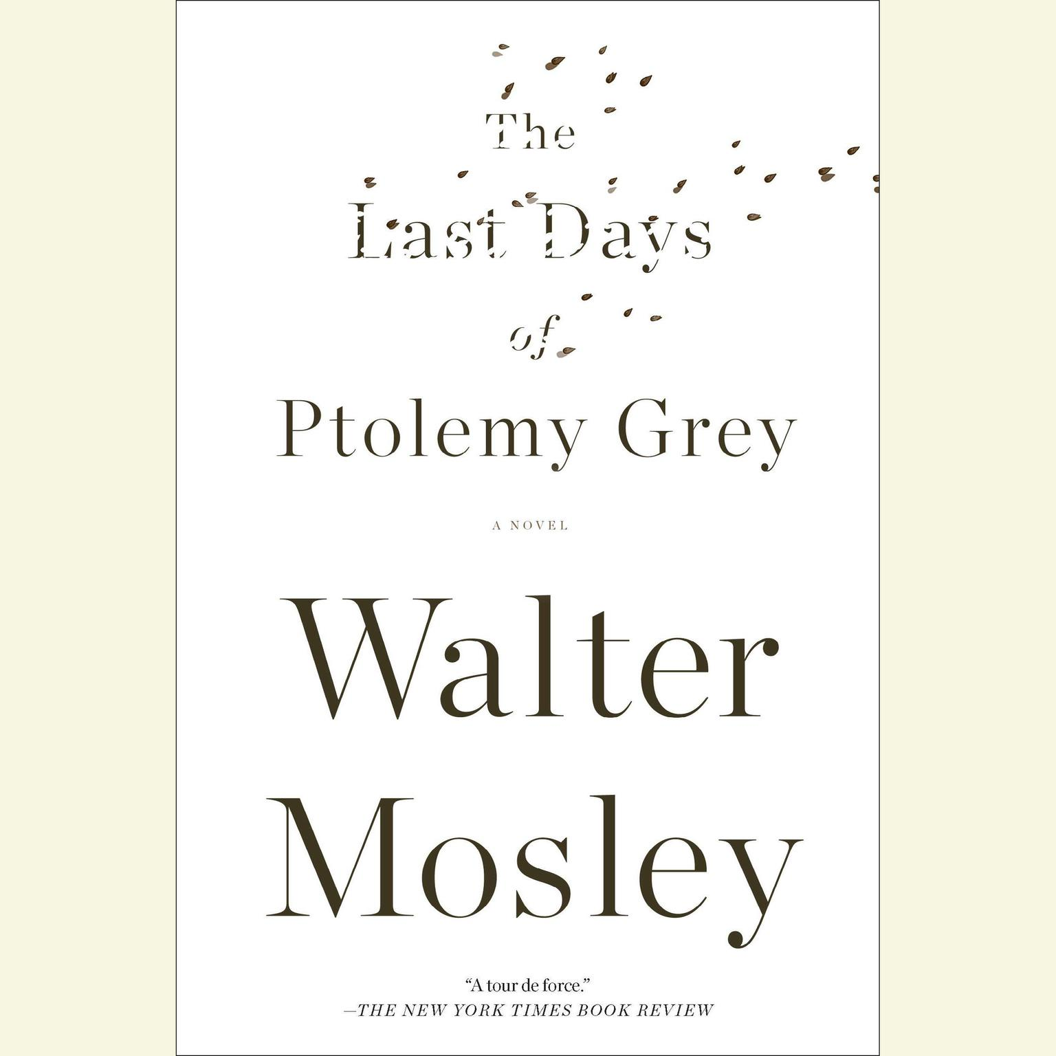 Printable The Last Days of Ptolemy Grey Audiobook Cover Art