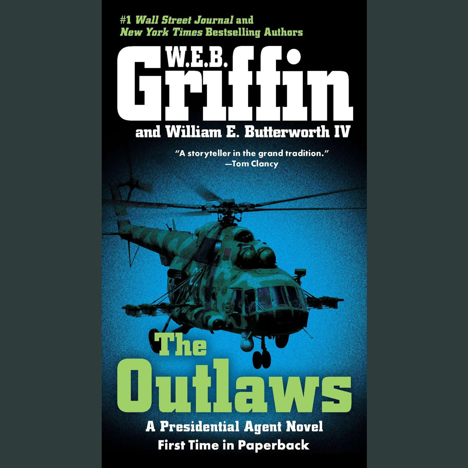 Printable The Outlaws: A Presidential Agent Novel Audiobook Cover Art