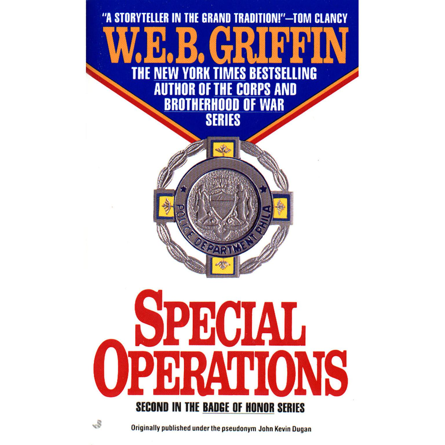 Printable Special Operations Audiobook Cover Art
