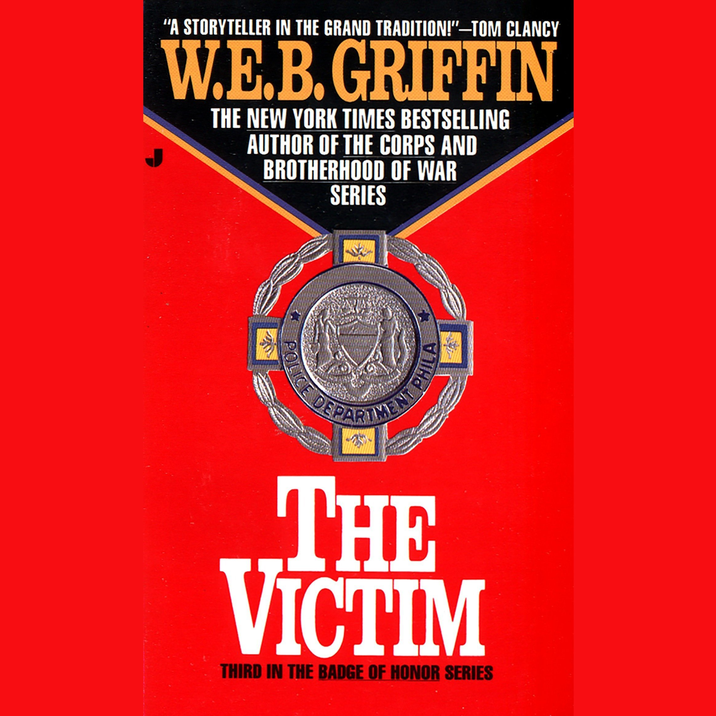 Printable The Victim Audiobook Cover Art