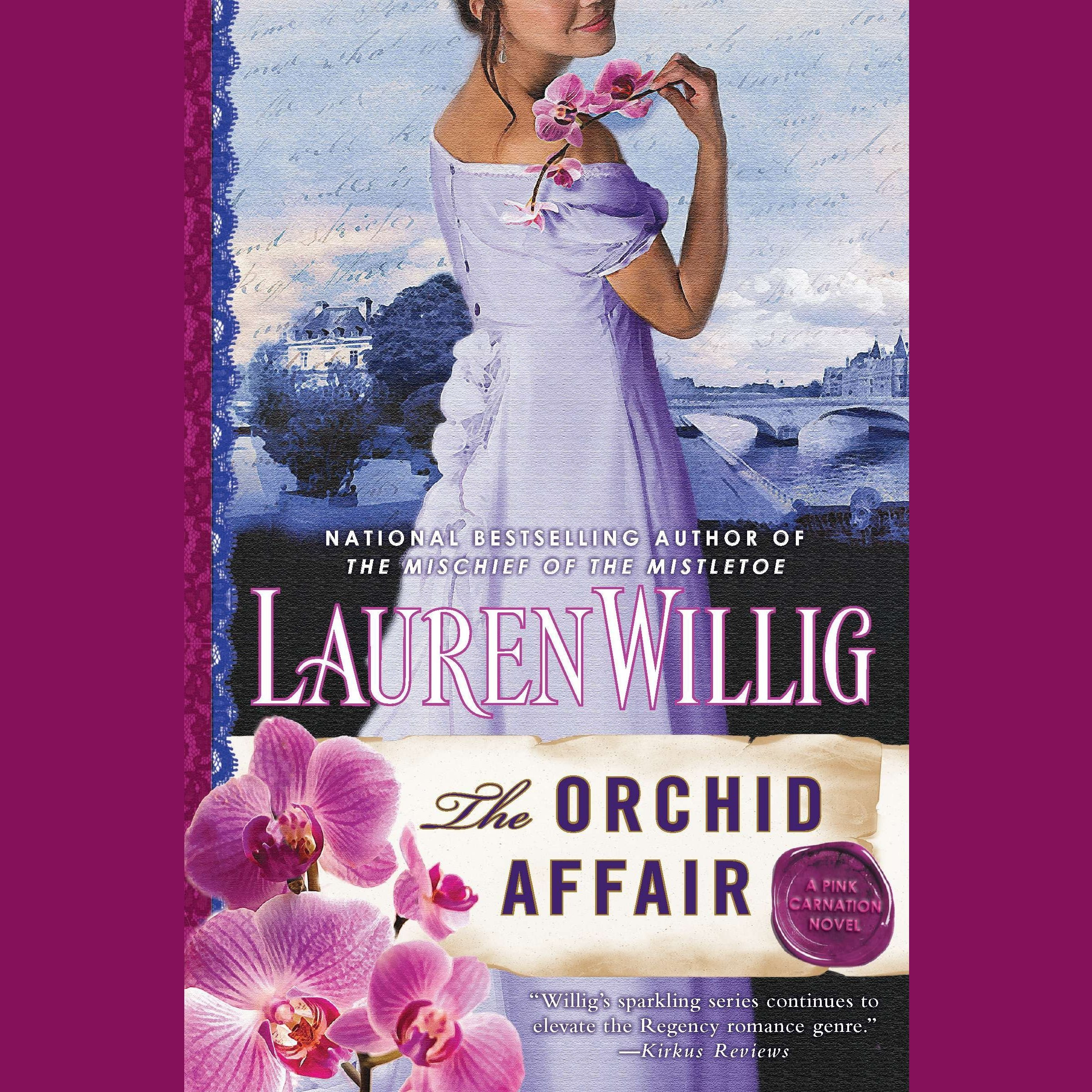 Printable The Orchid Affair Audiobook Cover Art