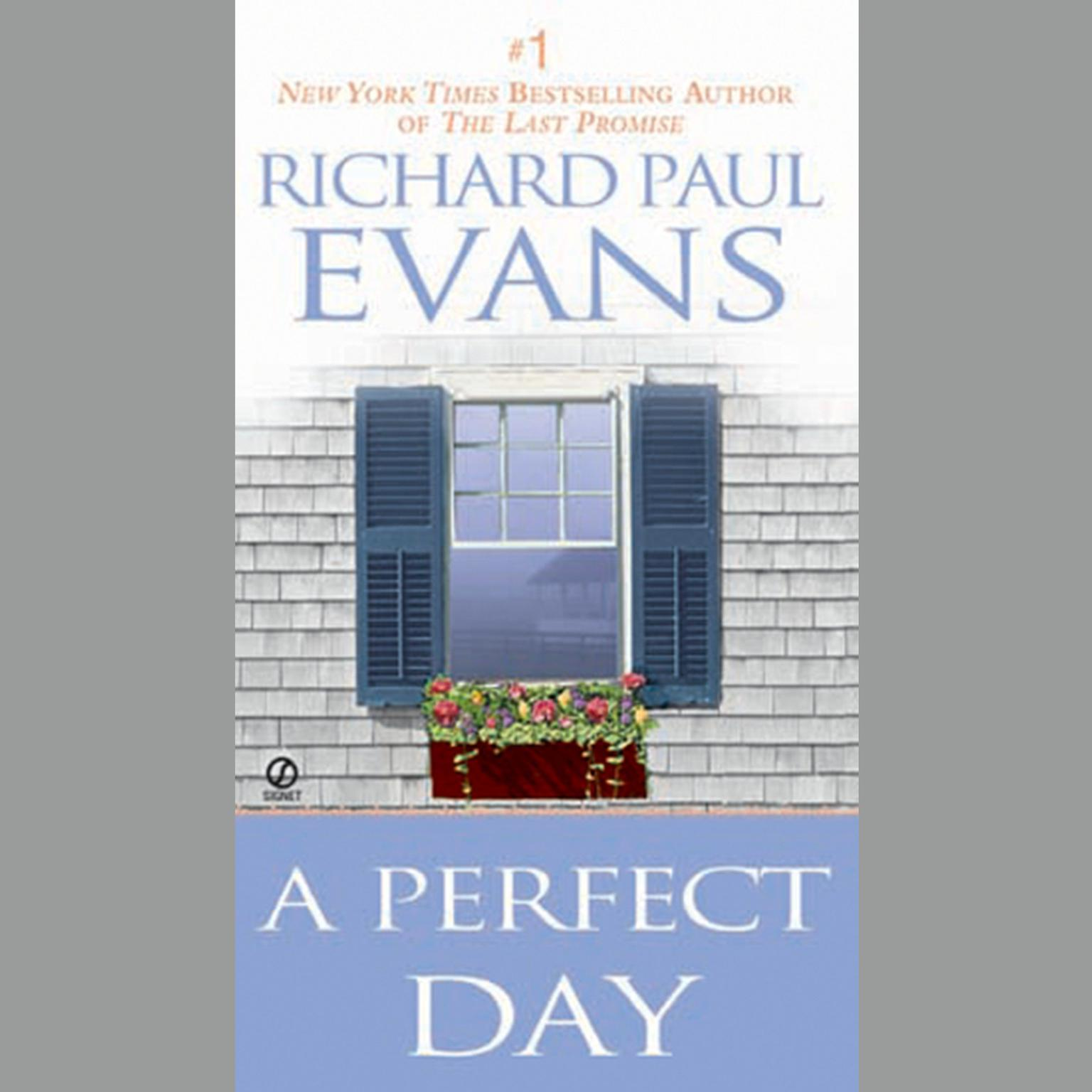 Printable A Perfect Day Audiobook Cover Art