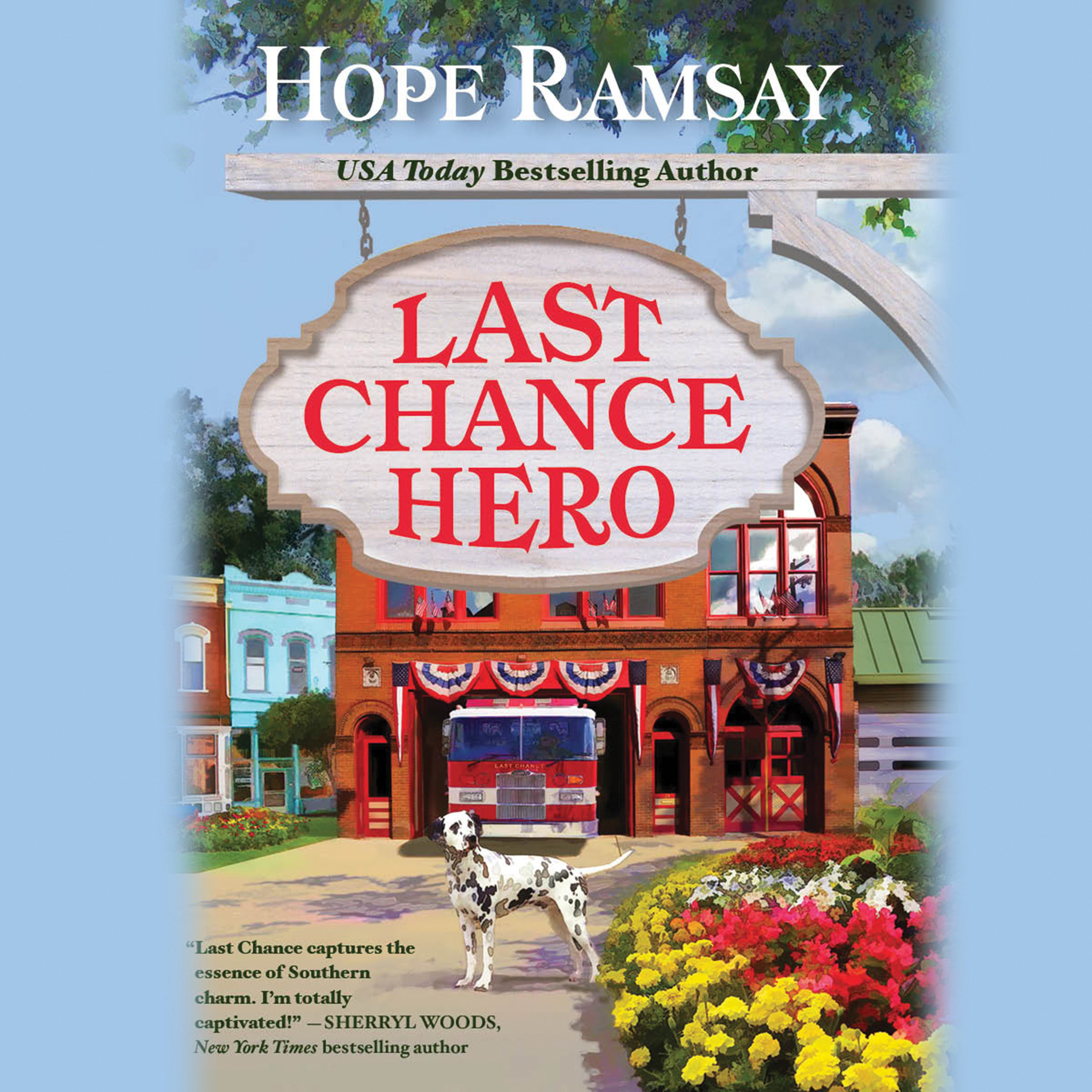 Printable Last Chance Hero Audiobook Cover Art