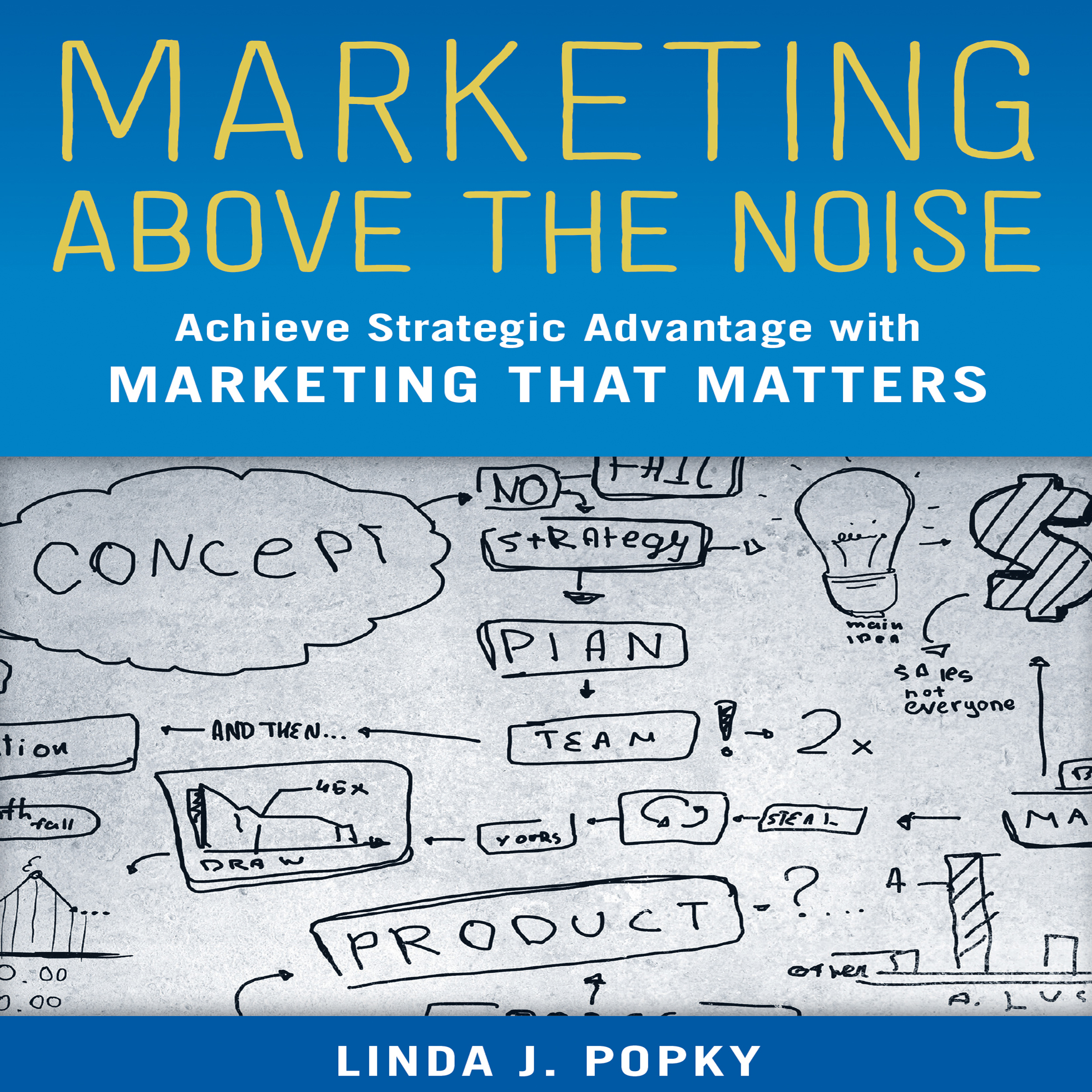 Printable Marketing above the Noise: Achieve Strategic Advantage with Marketing that Matters Audiobook Cover Art