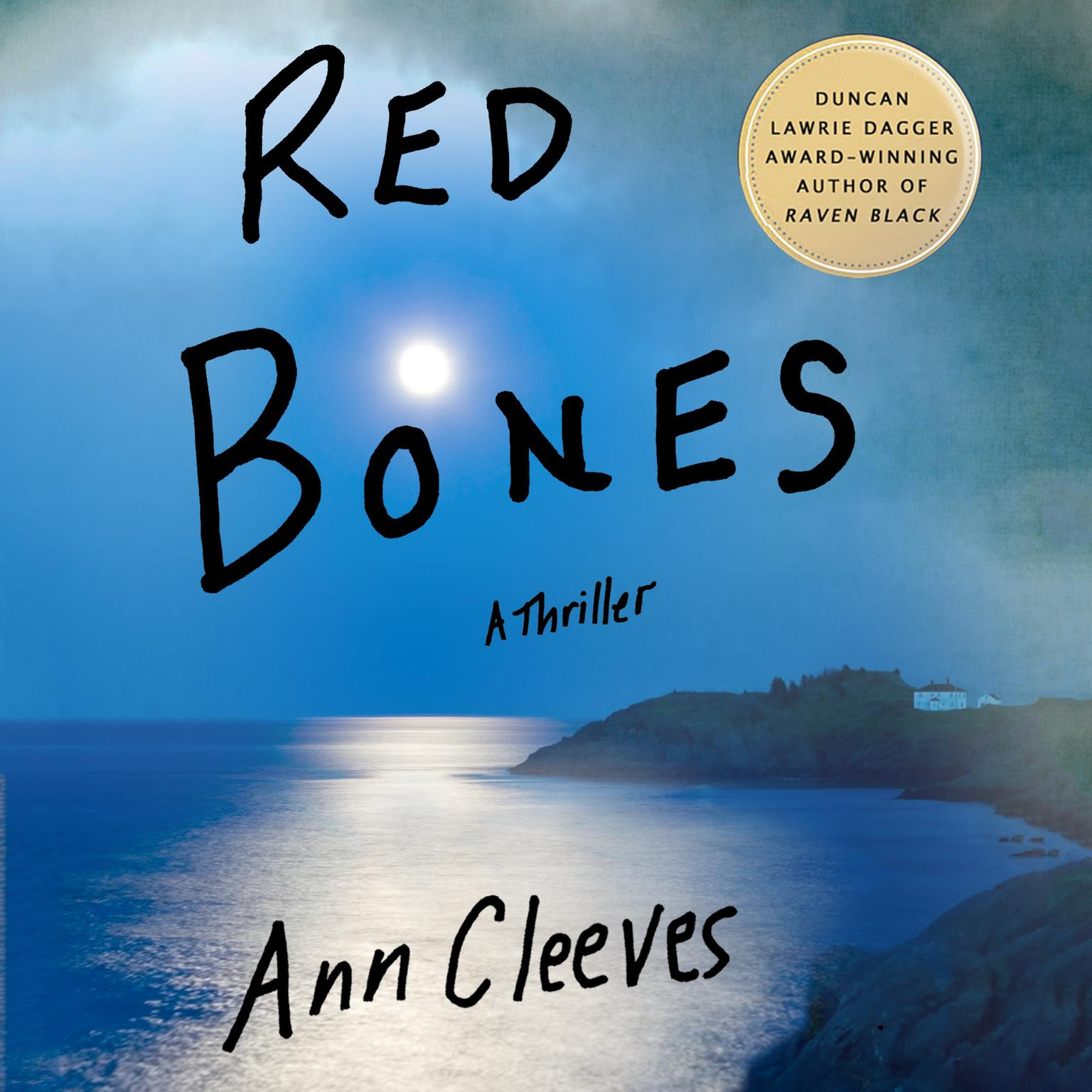 Printable Red Bones: A Thriller Audiobook Cover Art