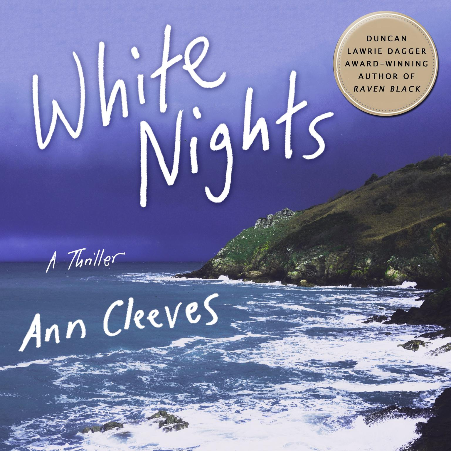Printable White Nights: A Thriller Audiobook Cover Art