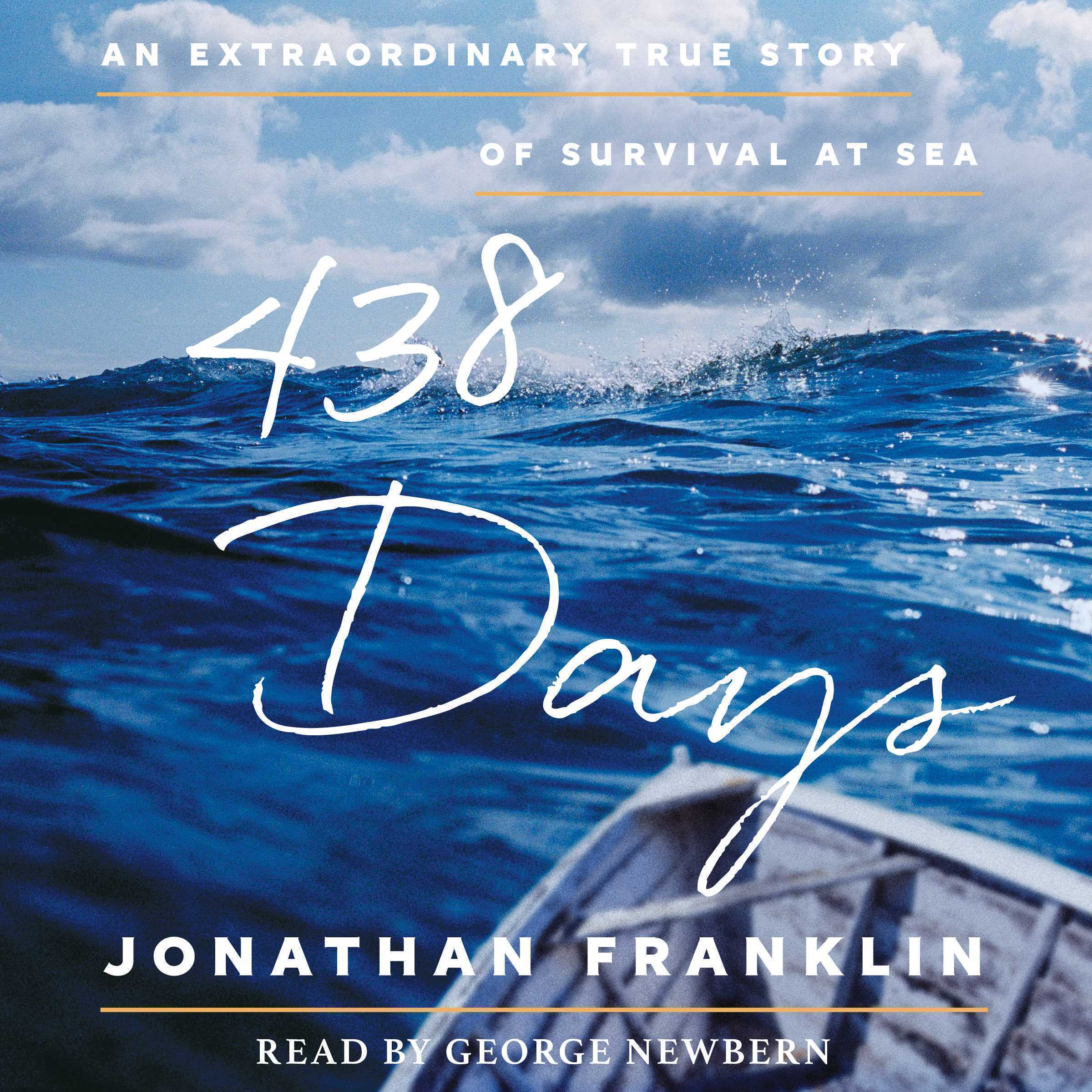 Printable 438 Days: An Extraordinary True Story of Survival at Sea Audiobook Cover Art