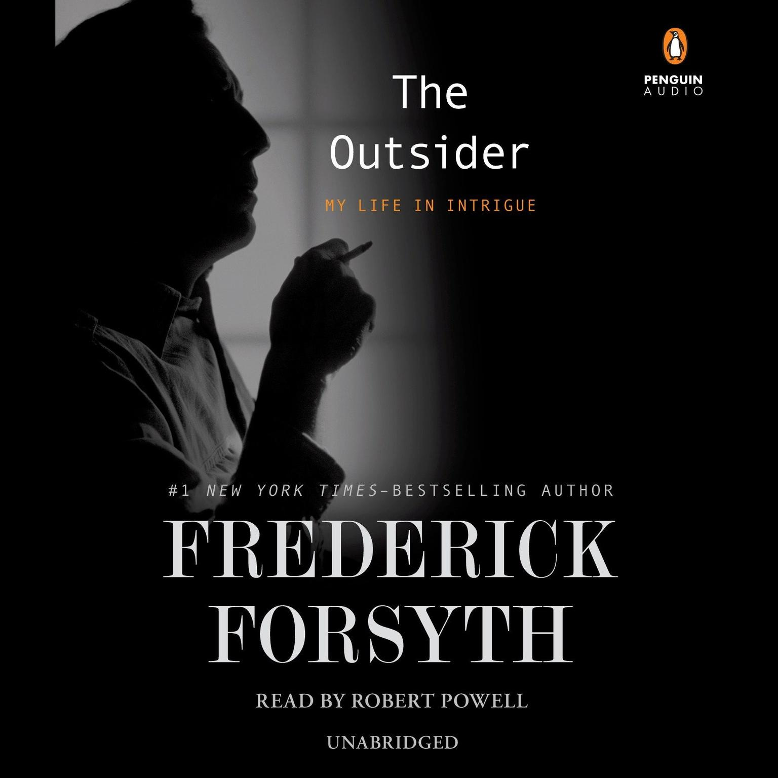 Printable The Outsider: My Life in Intrigue Audiobook Cover Art