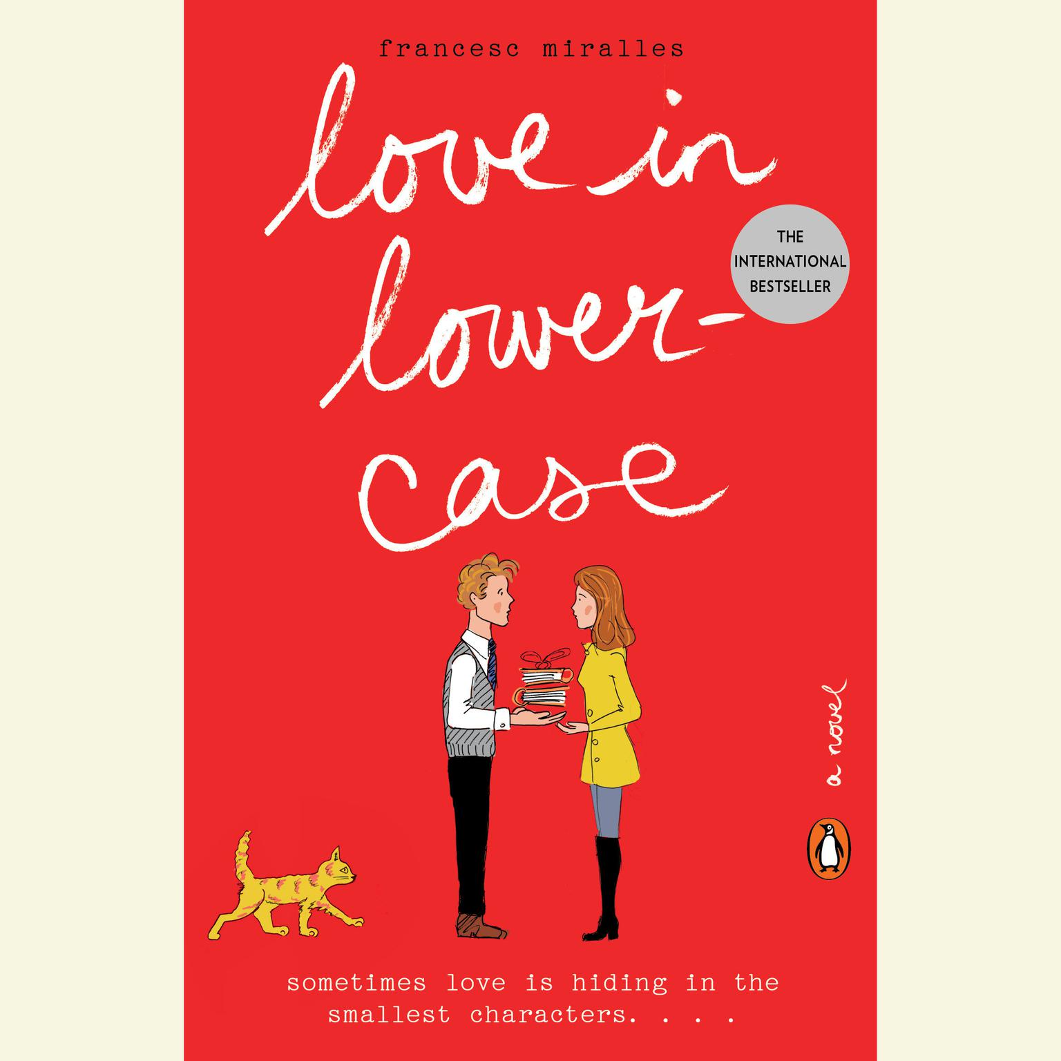 Printable Love in Lowercase: A Novel Audiobook Cover Art