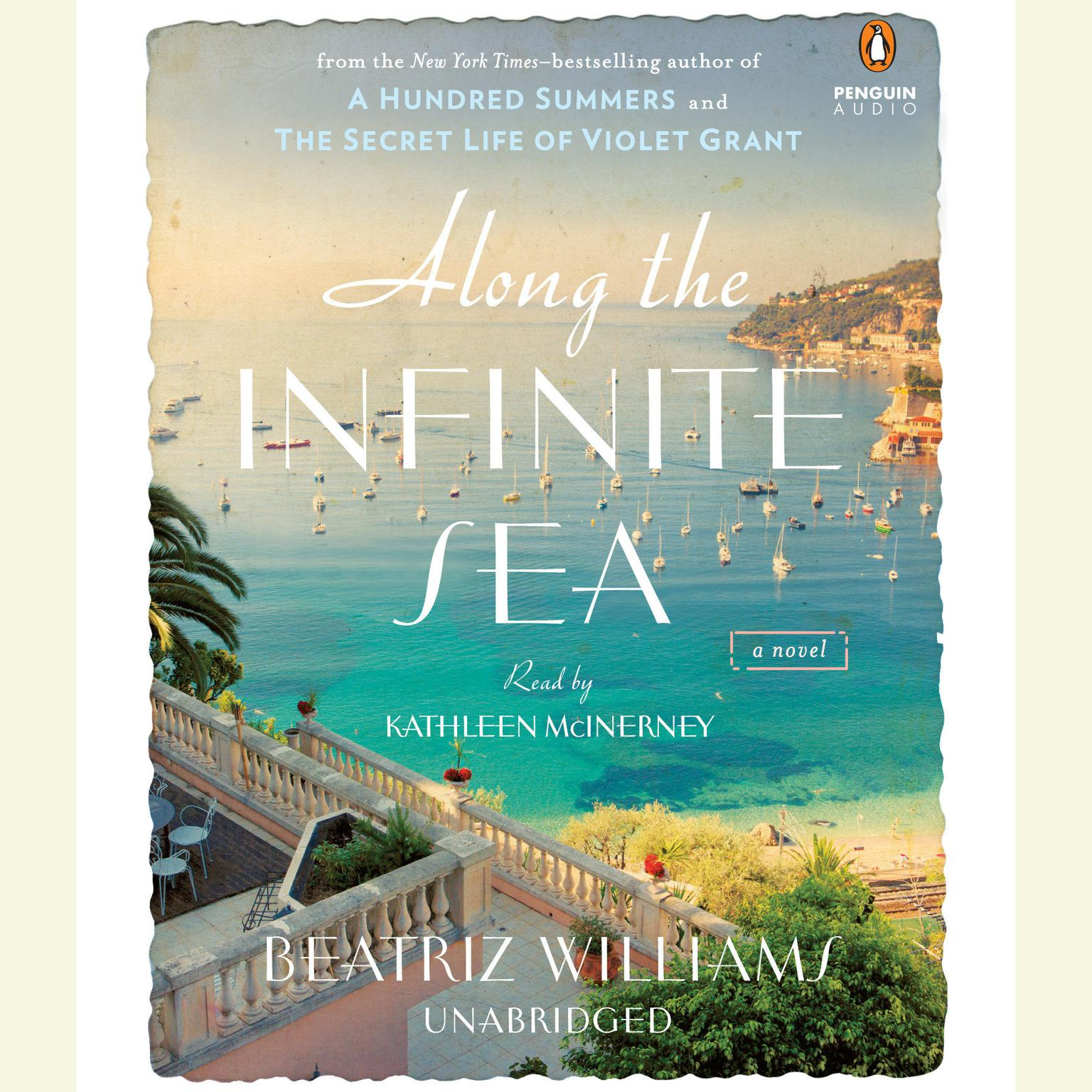 Printable Along the Infinite Sea Audiobook Cover Art