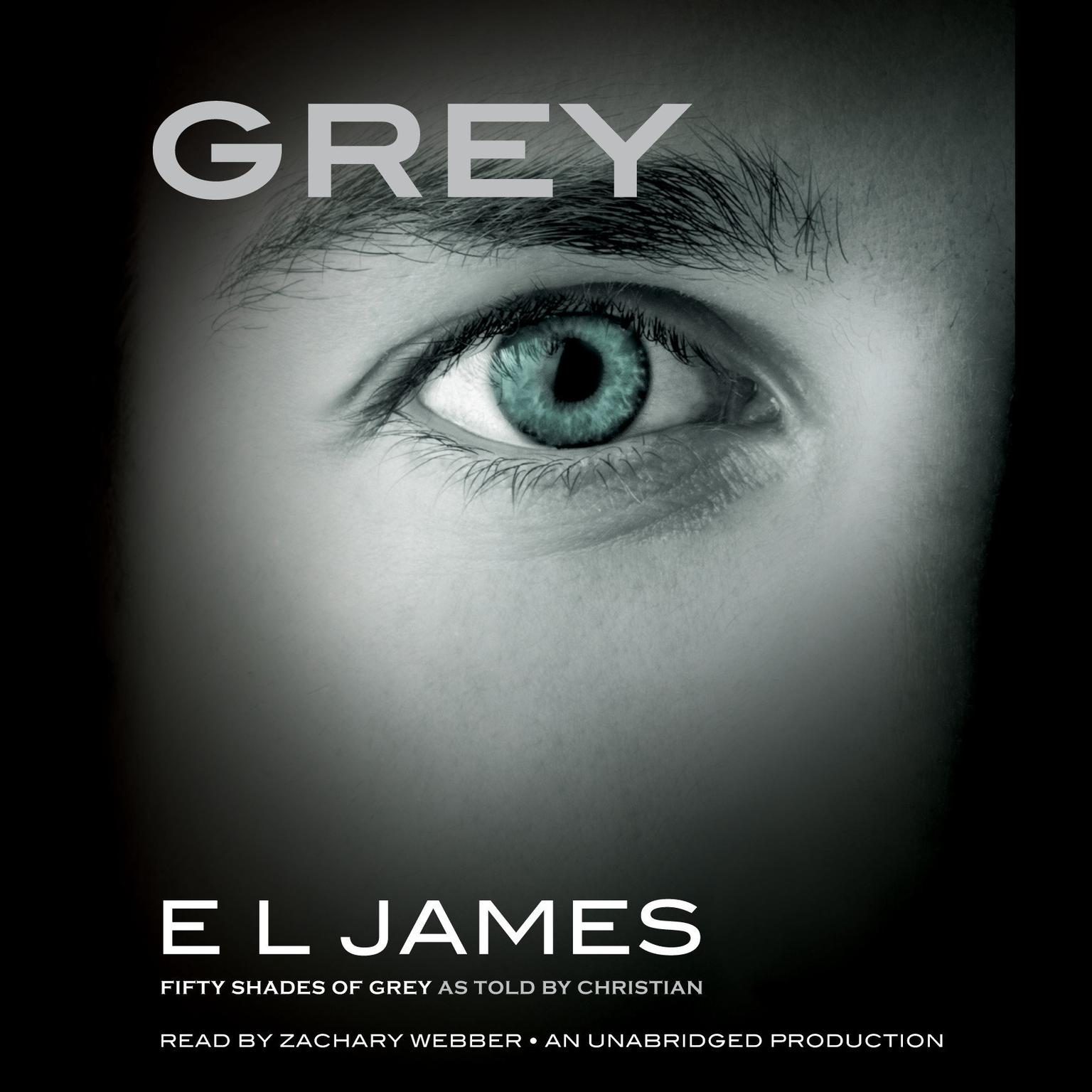 Printable Grey: Fifty Shades of Grey as Told by Christian Audiobook Cover Art