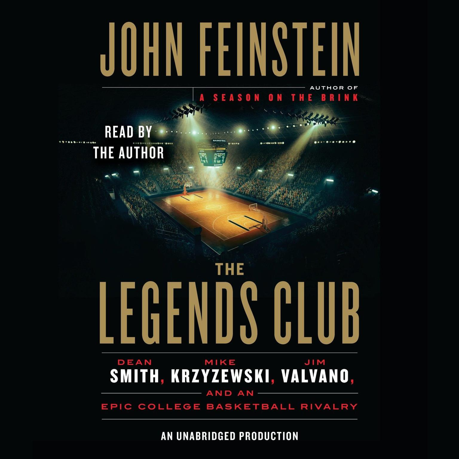 Printable The Legends Club: Dean Smith, Mike Krzyzewski, Jim Valvano, and an Epic College Basketball Rivalry Audiobook Cover Art