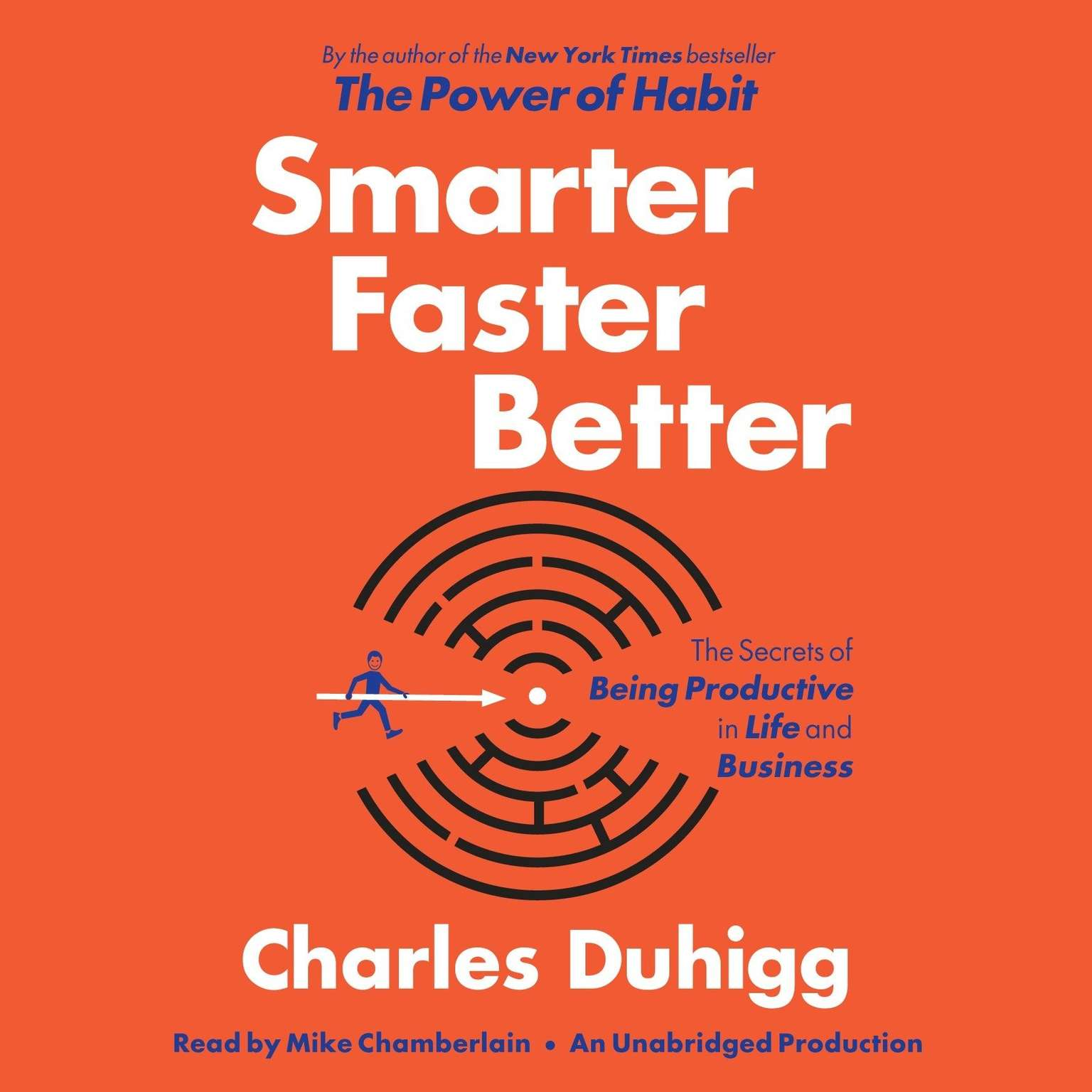 Printable Smarter Faster Better: The Secrets of Being Productive in Life and Business Audiobook Cover Art