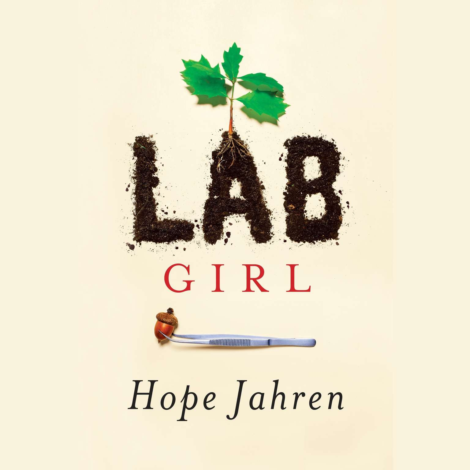 Printable Lab Girl Audiobook Cover Art