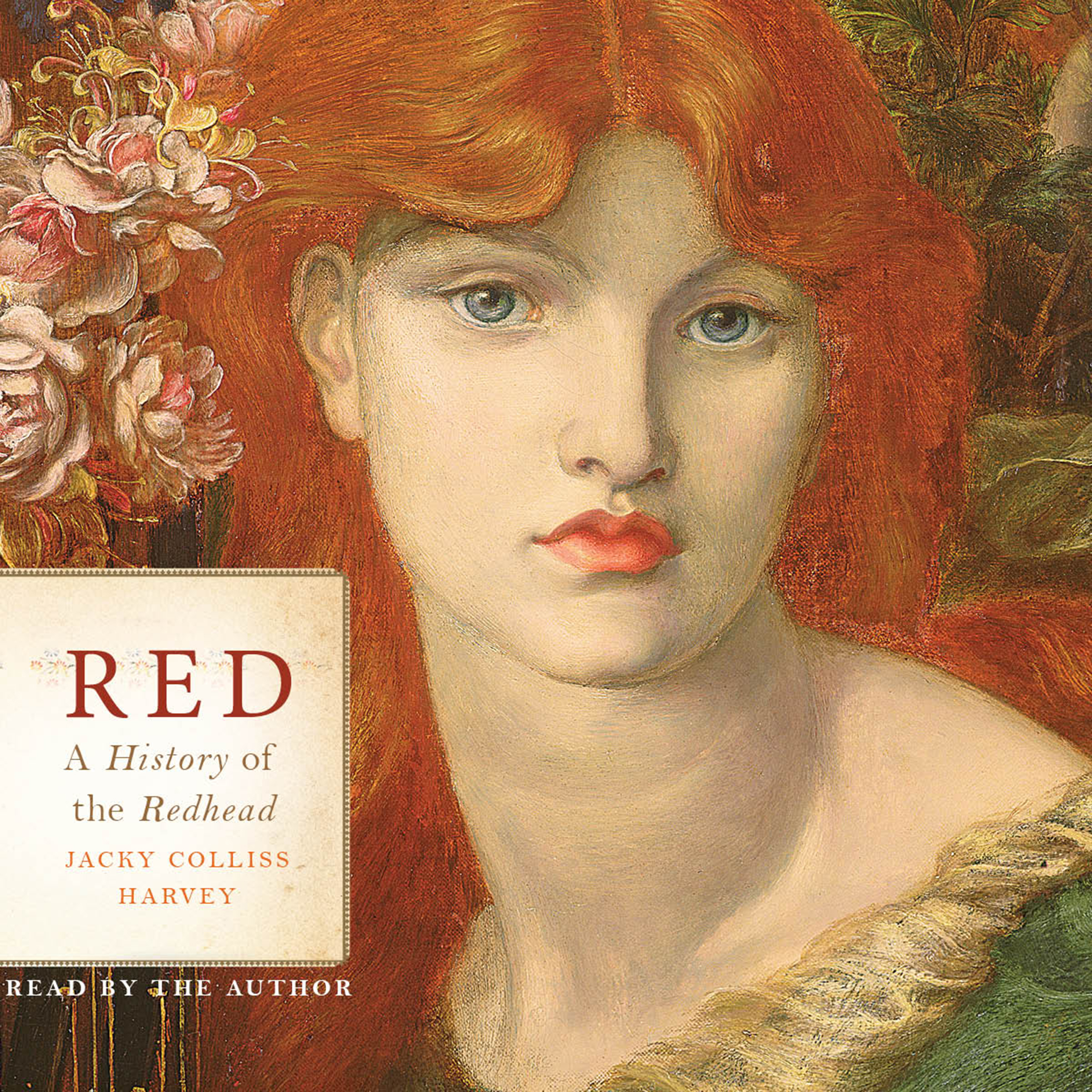 Printable Red: A History of the Redhead Audiobook Cover Art