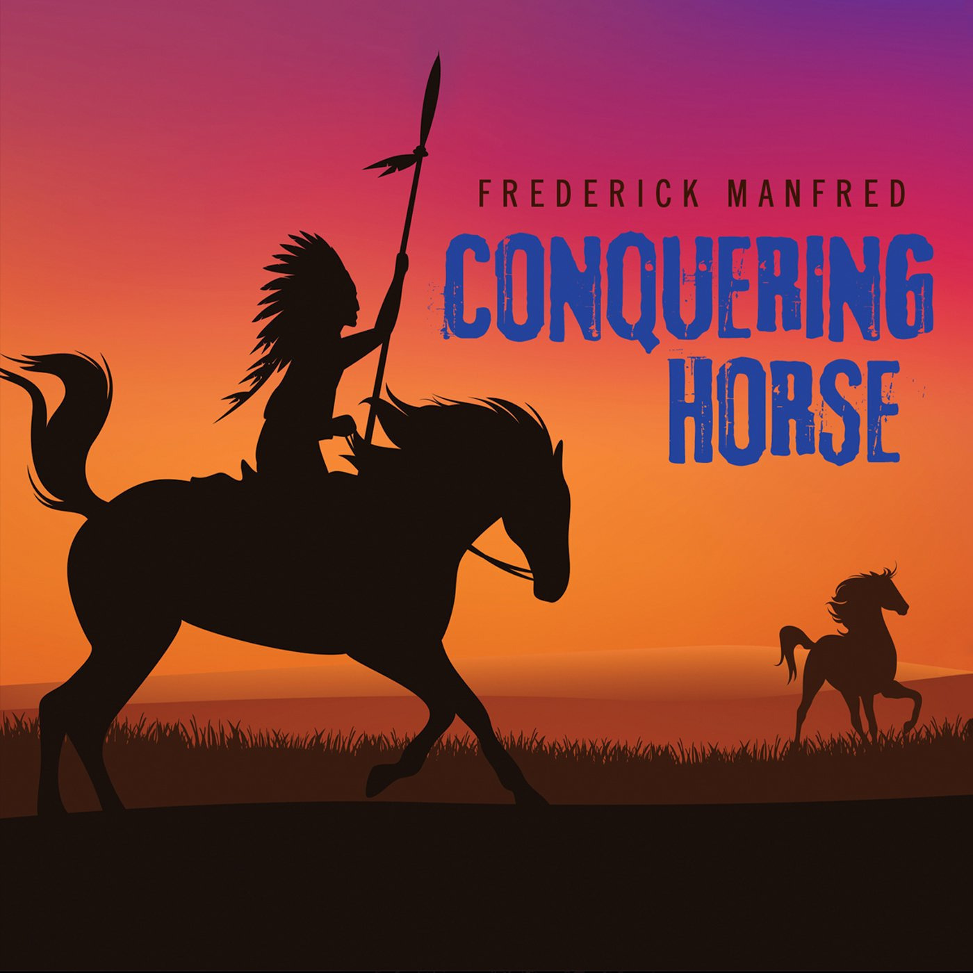 Printable Conquering Horse Audiobook Cover Art