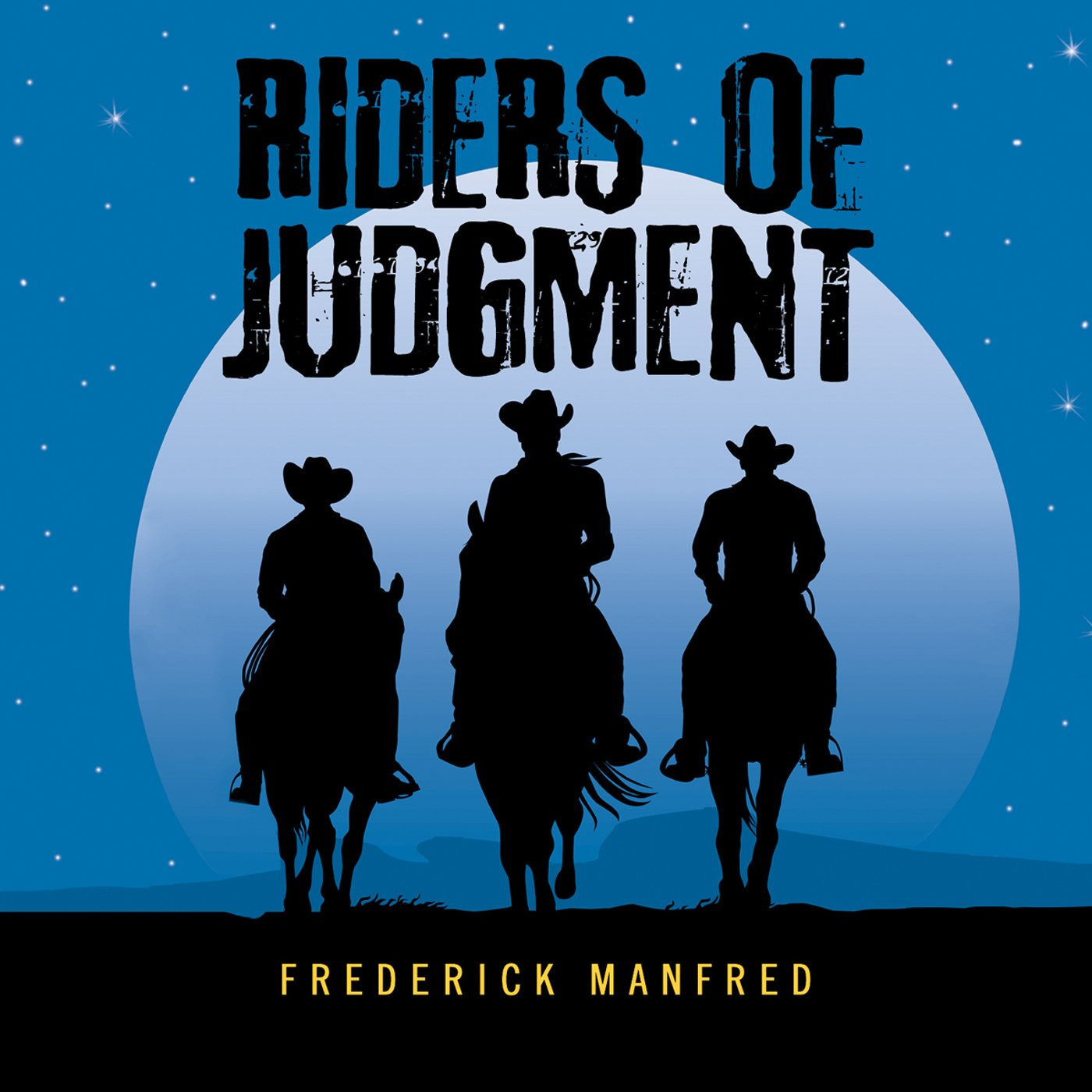 Printable Riders of Judgment Audiobook Cover Art