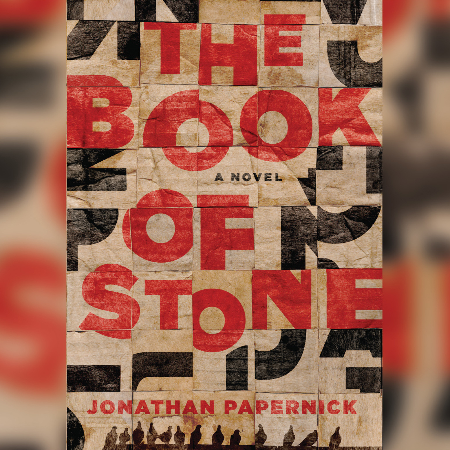 Printable The Book of Stone Audiobook Cover Art