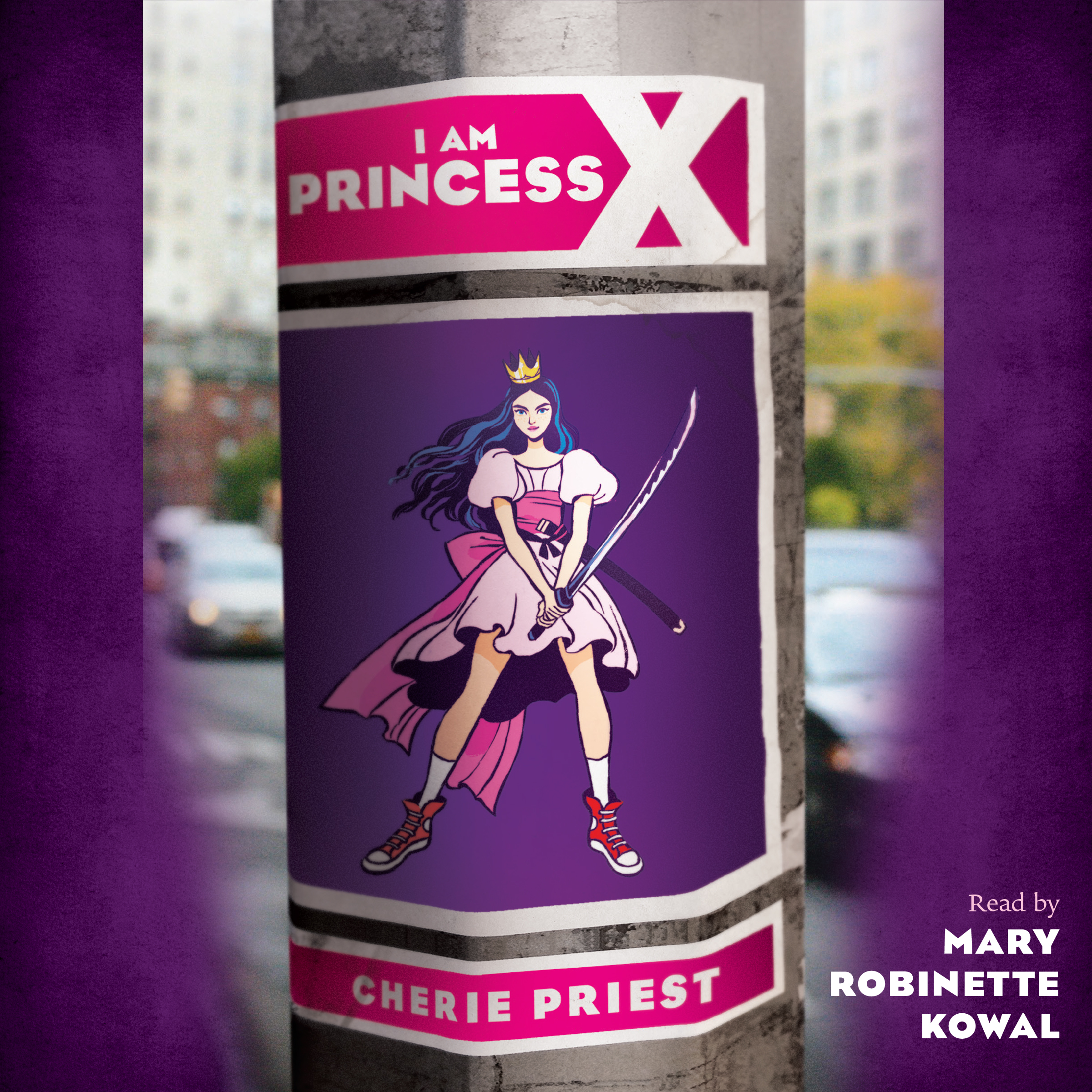 Printable I Am Princess X Audiobook Cover Art
