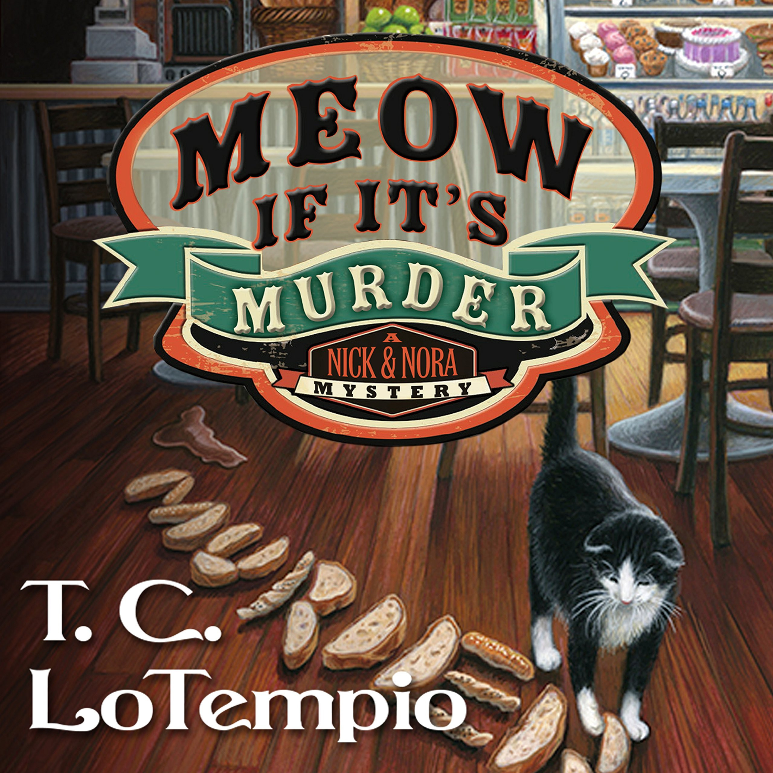Printable Meow If It's Murder Audiobook Cover Art