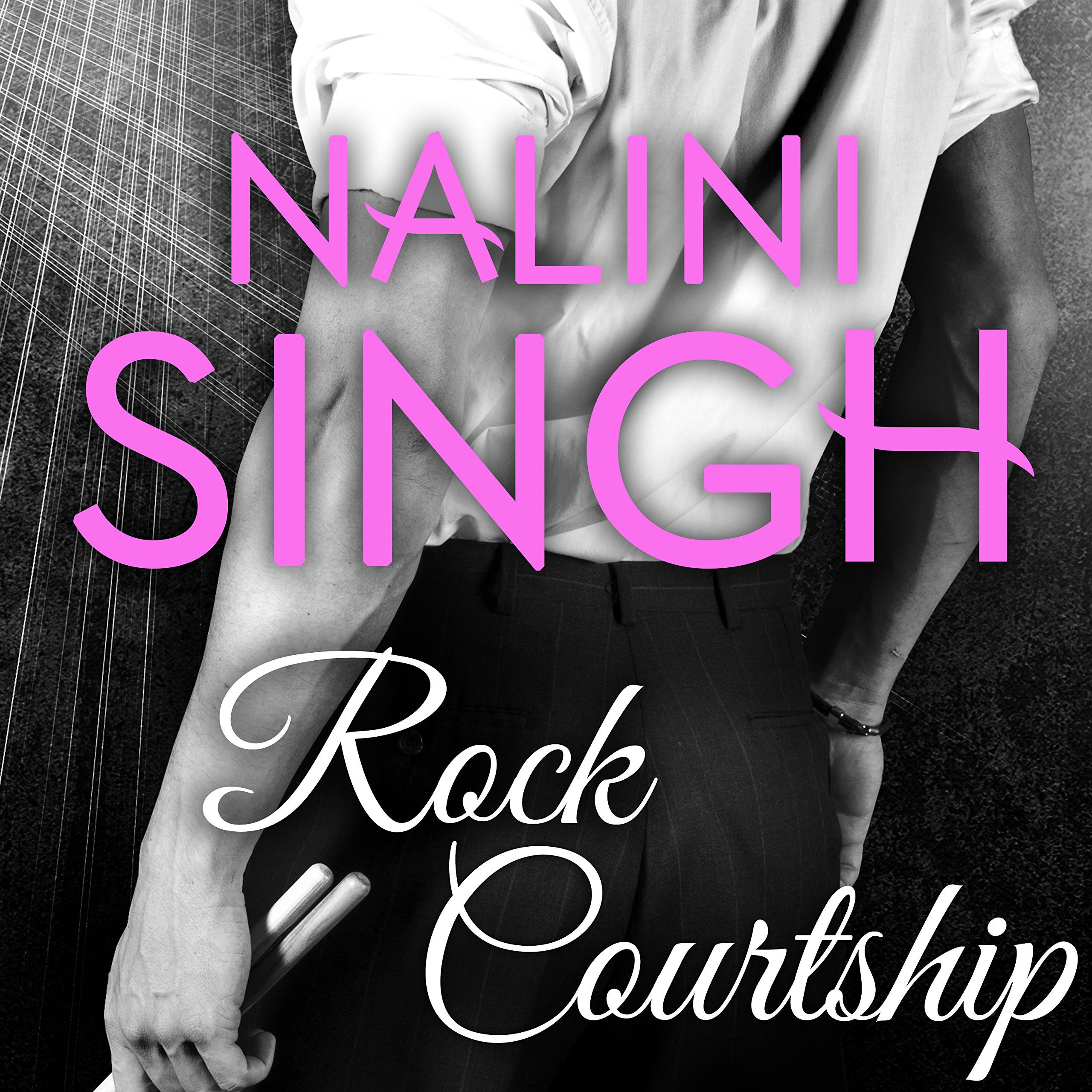 Printable Rock Courtship: A Rock Kiss Novella Audiobook Cover Art