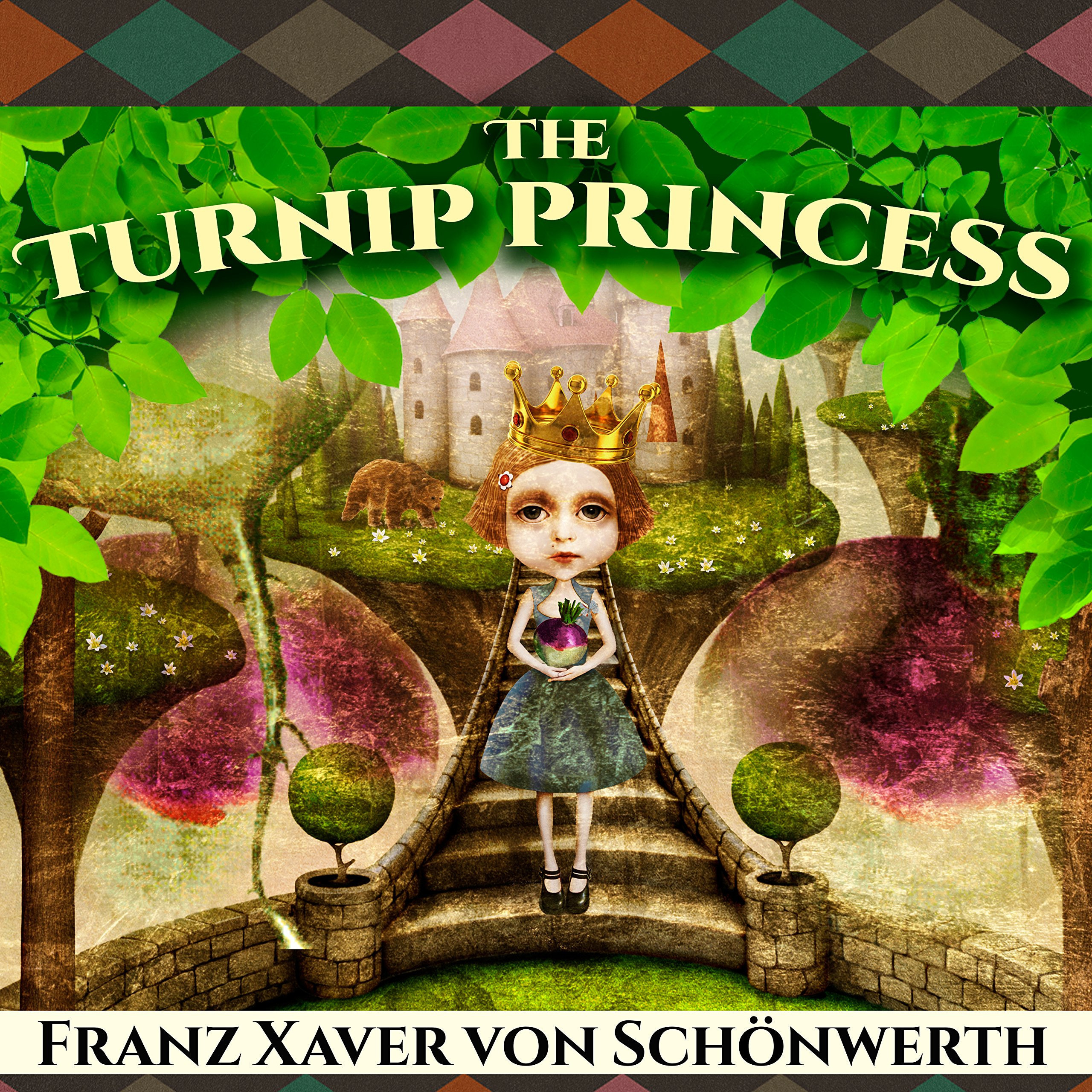 Printable The Turnip Princess : And Other Newly Discovered Fairy Tales Audiobook Cover Art