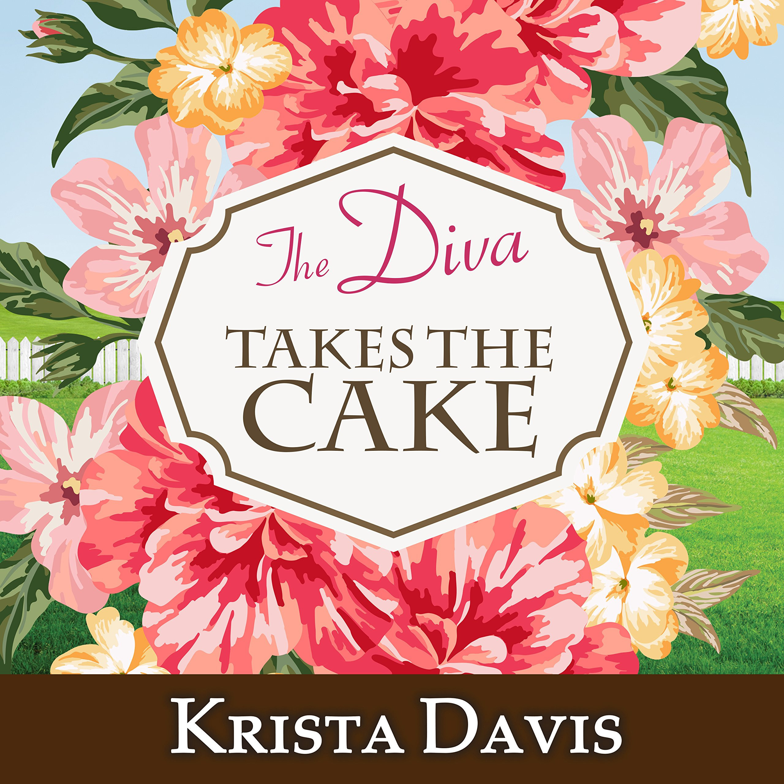 Printable The Diva Takes the Cake Audiobook Cover Art