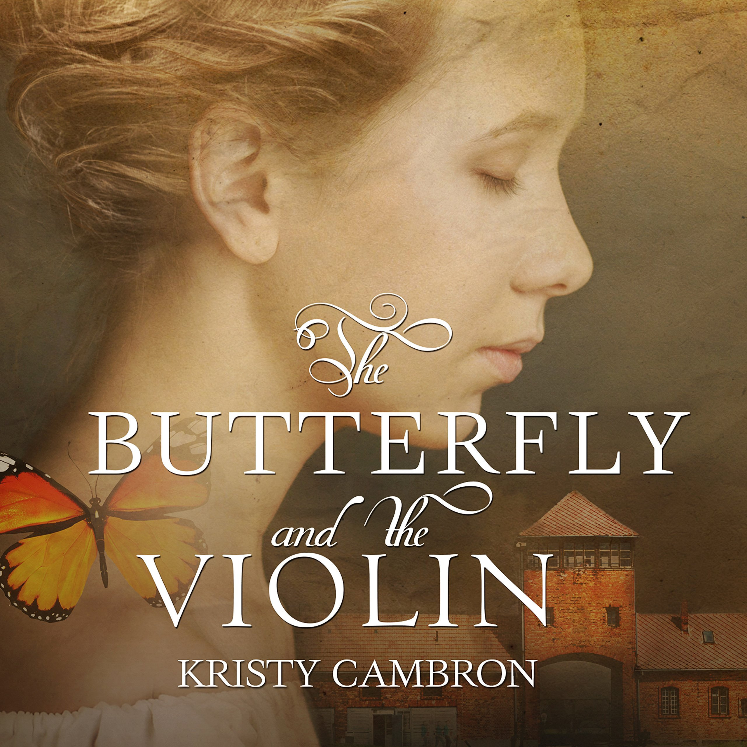 Printable The Butterfly and the Violin: A Hidden Masterpiece Novel Audiobook Cover Art