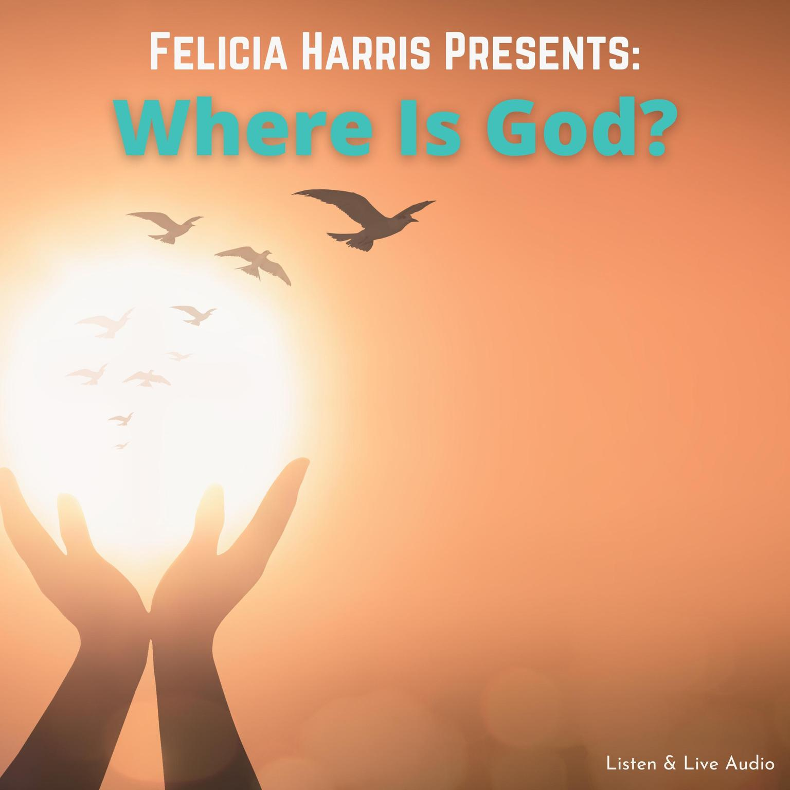 Printable Felicia Harris Presents: Where Is God? Audiobook Cover Art
