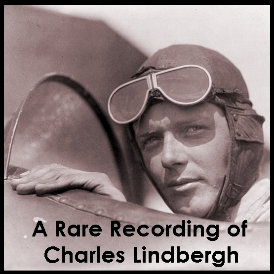 Printable A Rare Recording of Charles Lindbergh Audiobook Cover Art