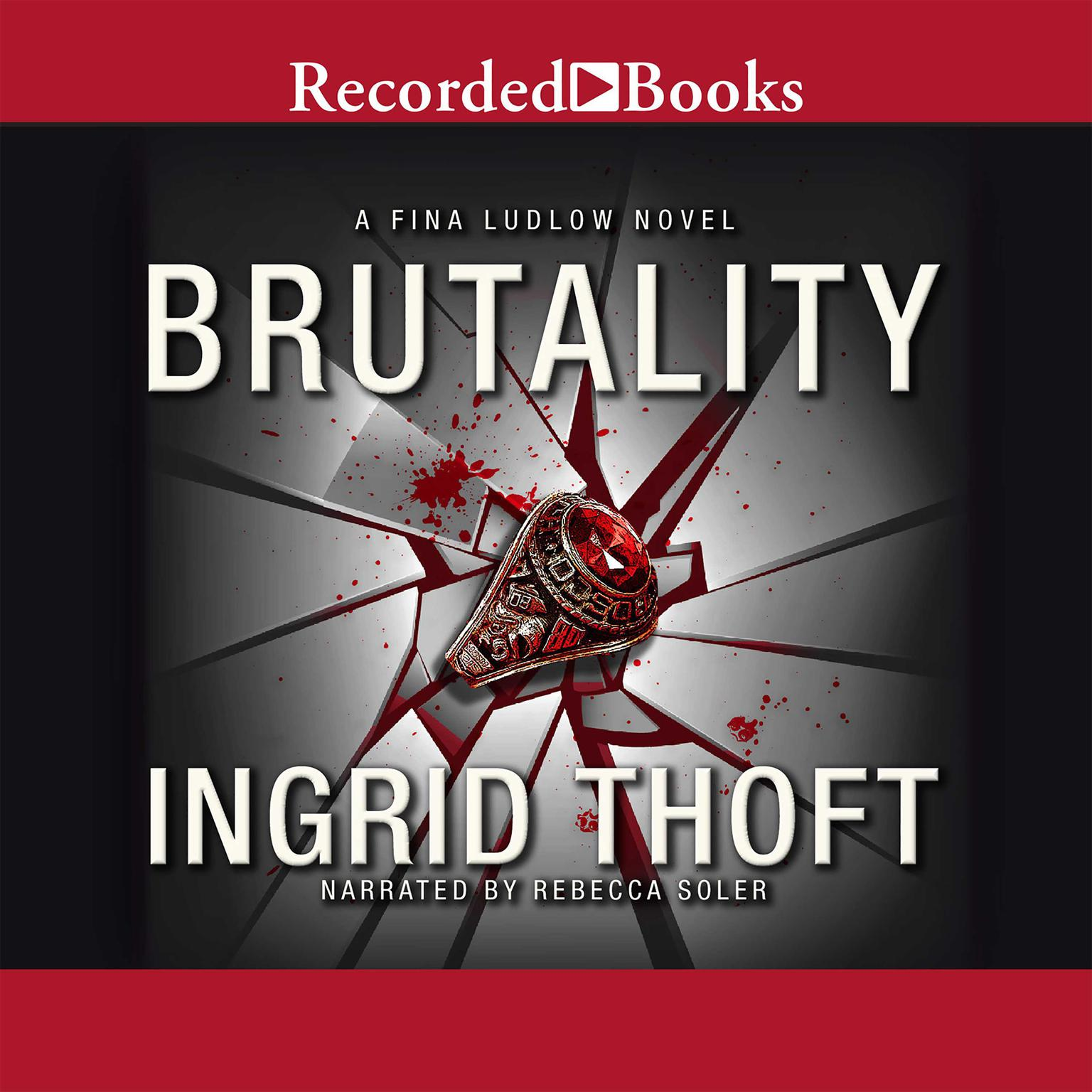 Printable Brutality Audiobook Cover Art
