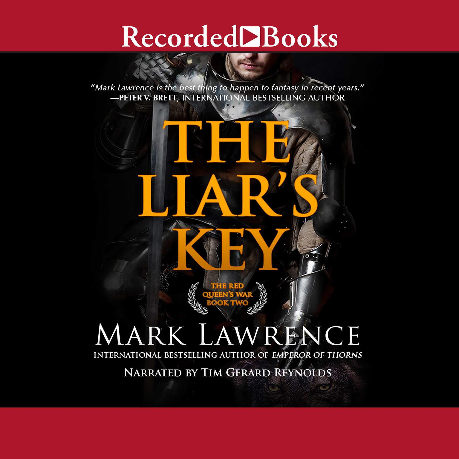 Printable The Liar's Key Audiobook Cover Art