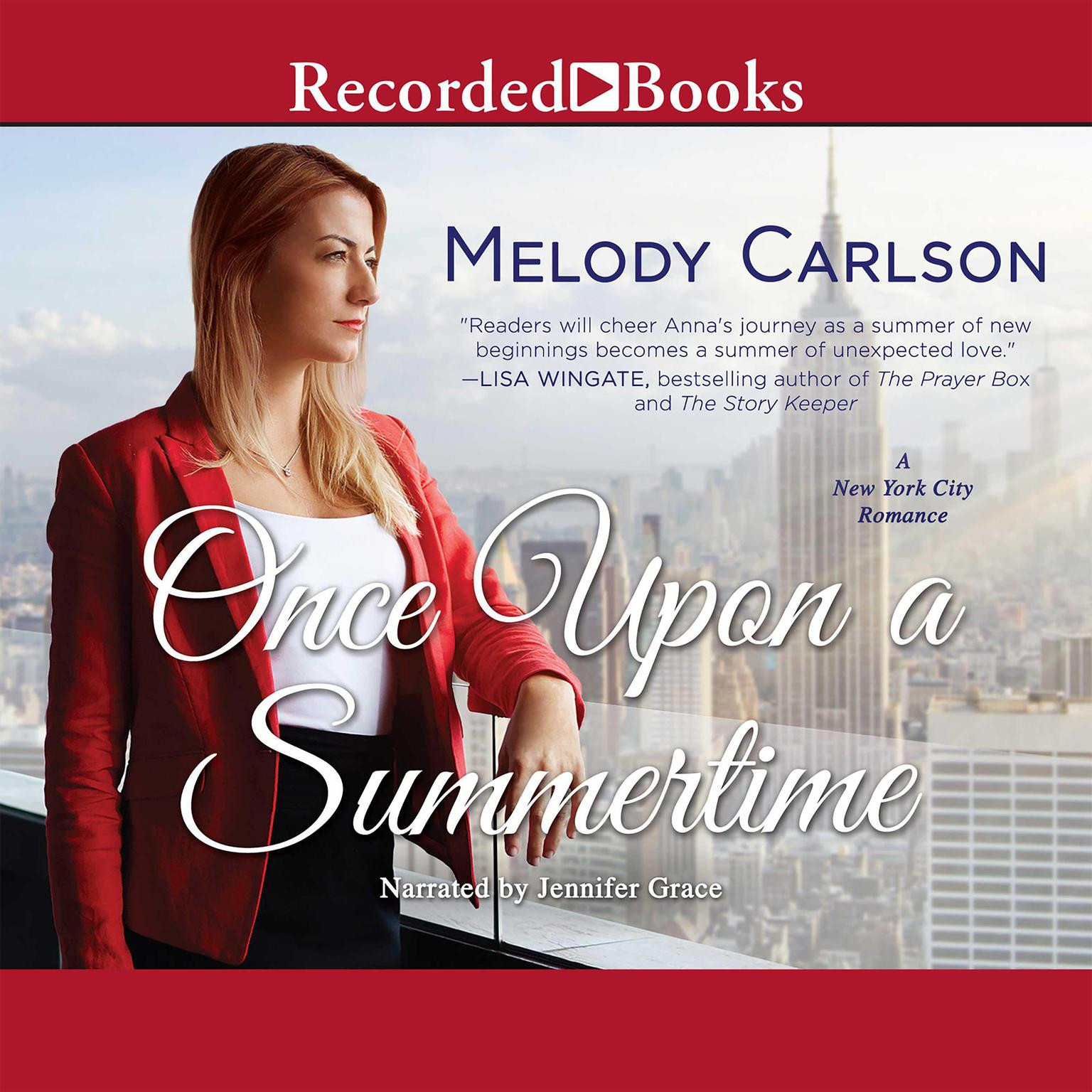 Printable Once Upon a Summertime: A New York City Romance Audiobook Cover Art