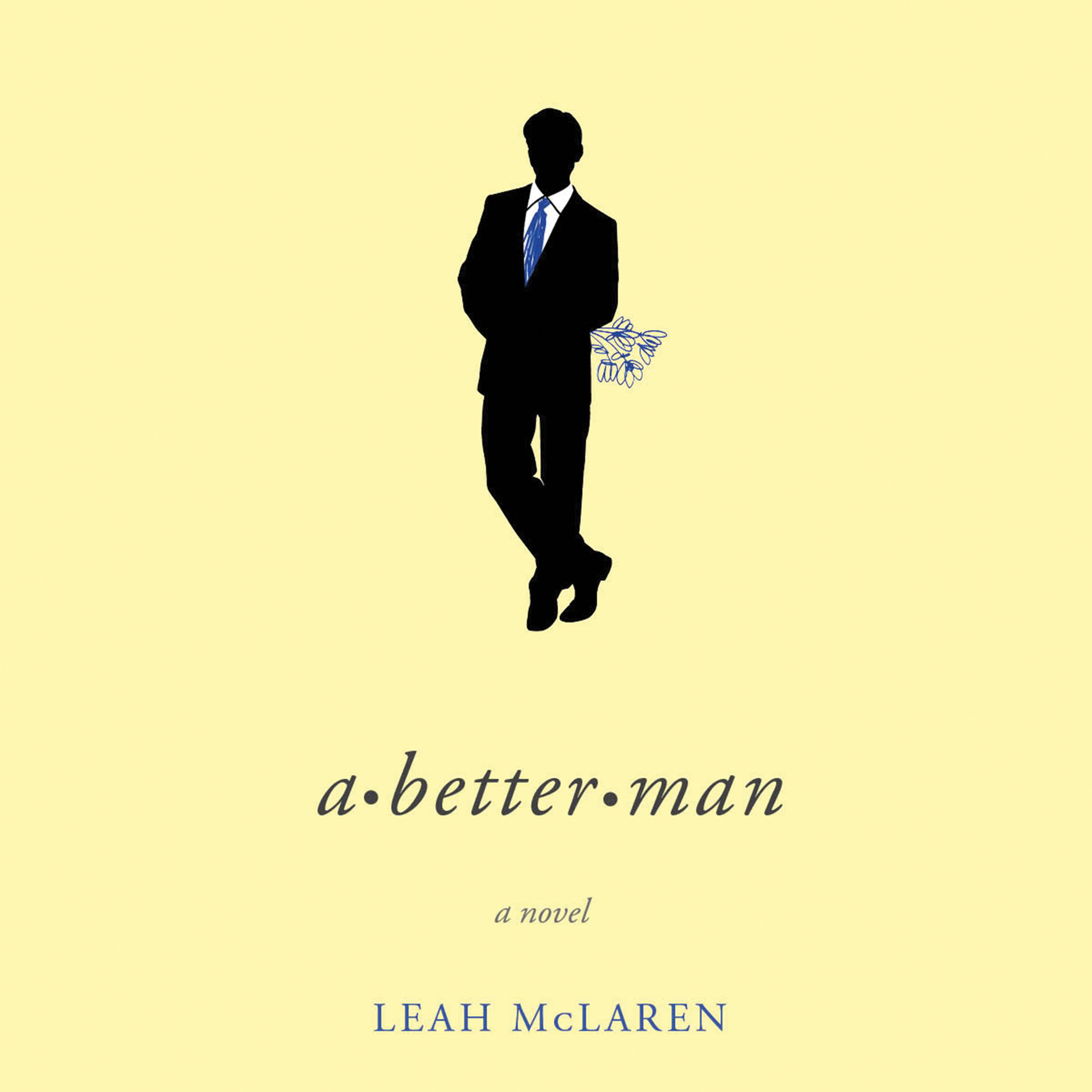 Printable A Better Man Audiobook Cover Art