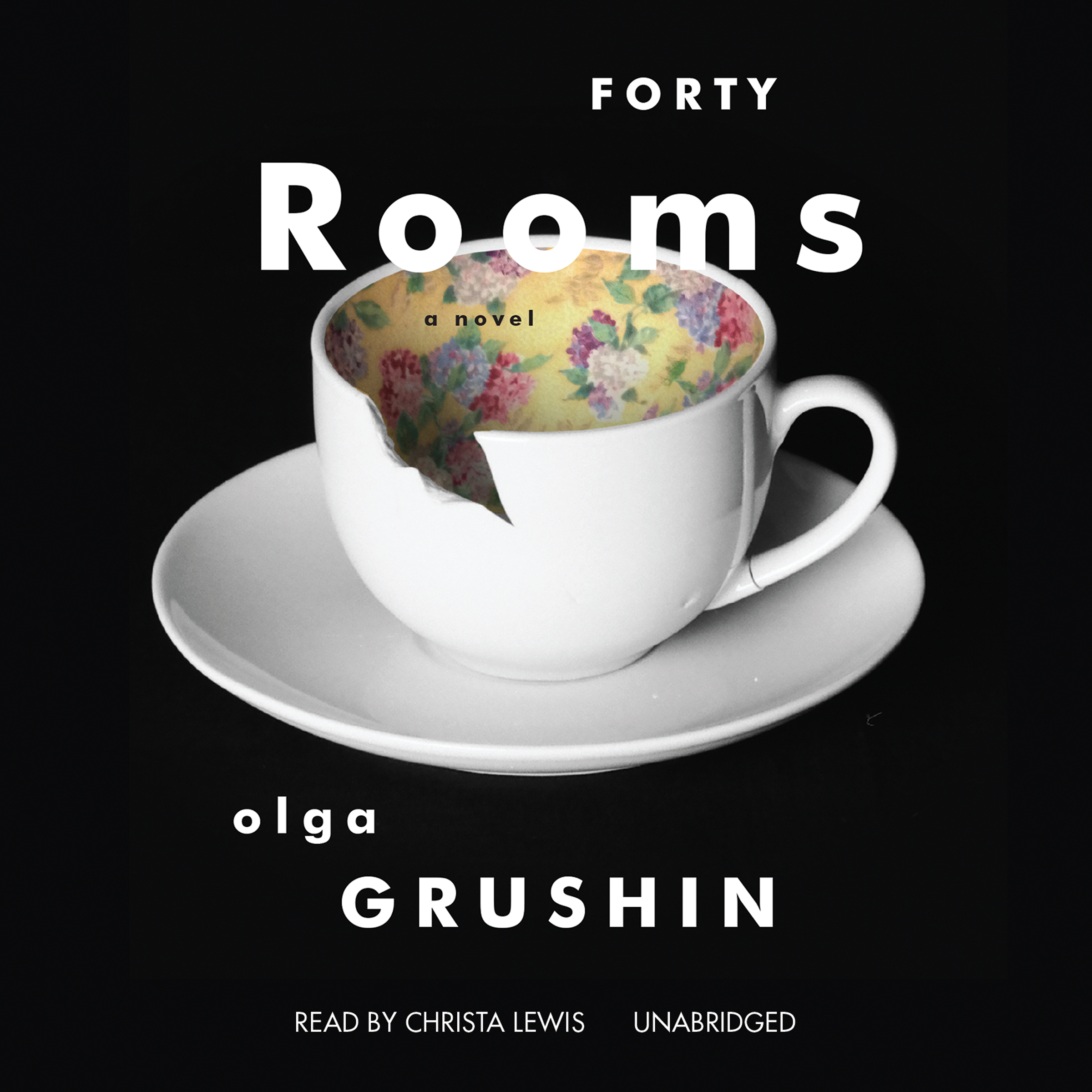 Printable Forty Rooms Audiobook Cover Art