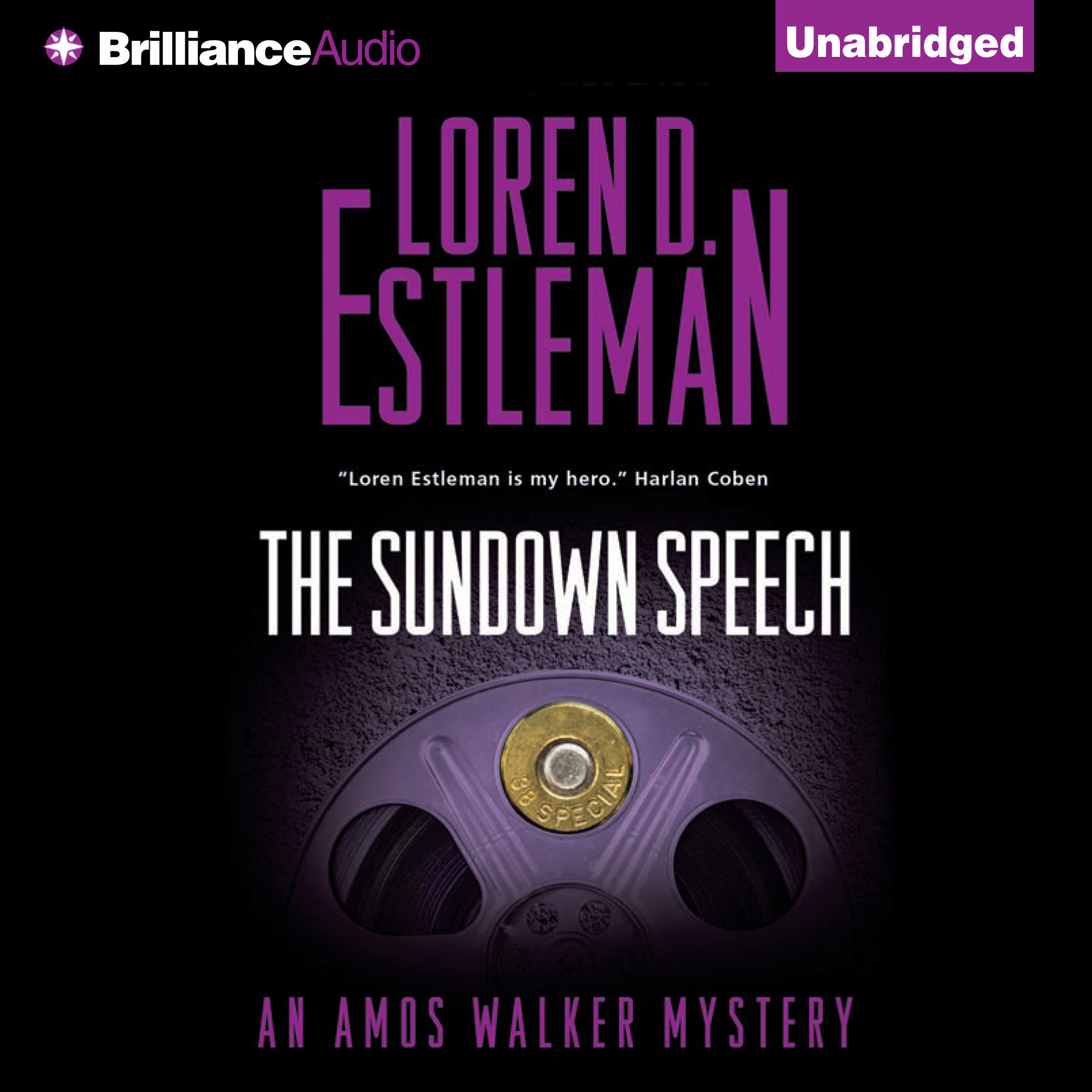 Printable The Sundown Speech Audiobook Cover Art