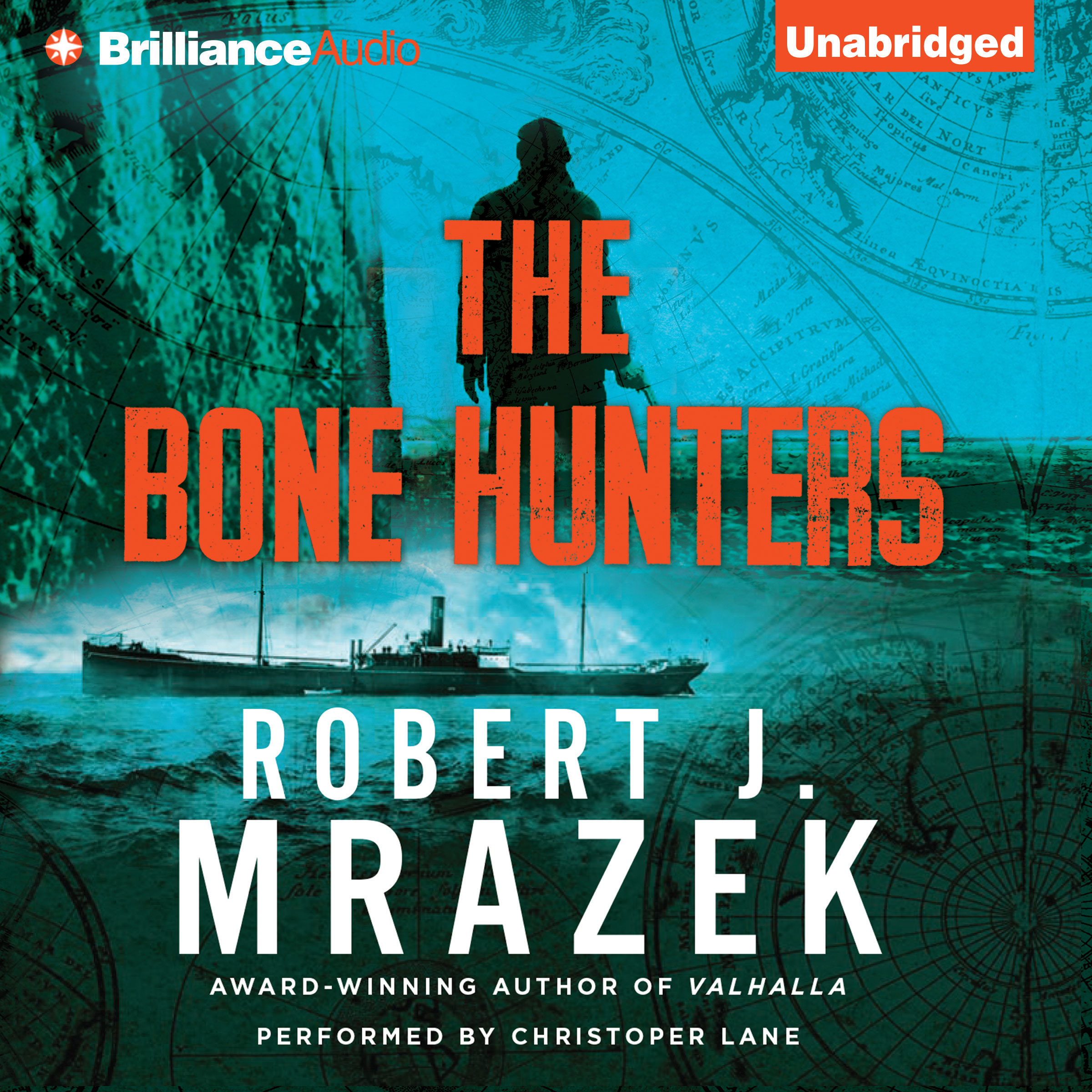 Printable The Bone Hunters Audiobook Cover Art