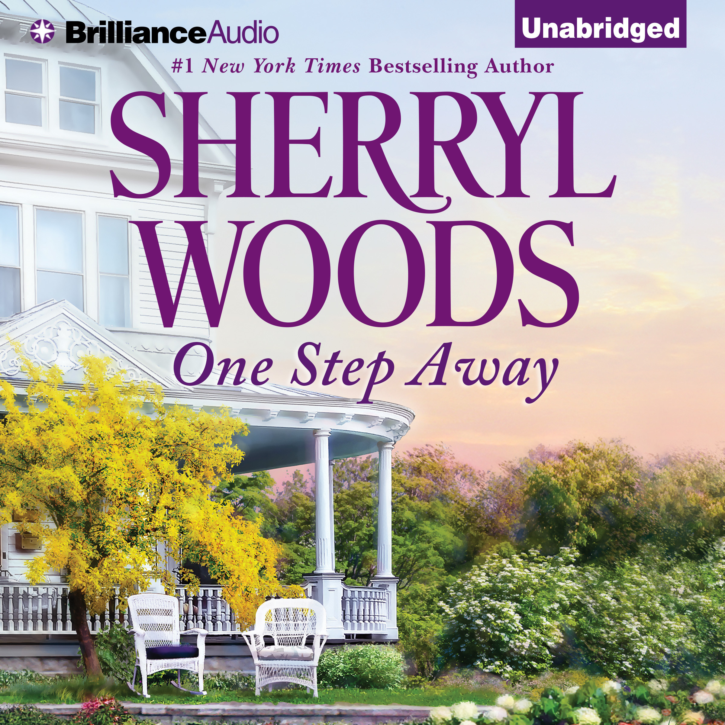 Printable One Step Away Audiobook Cover Art