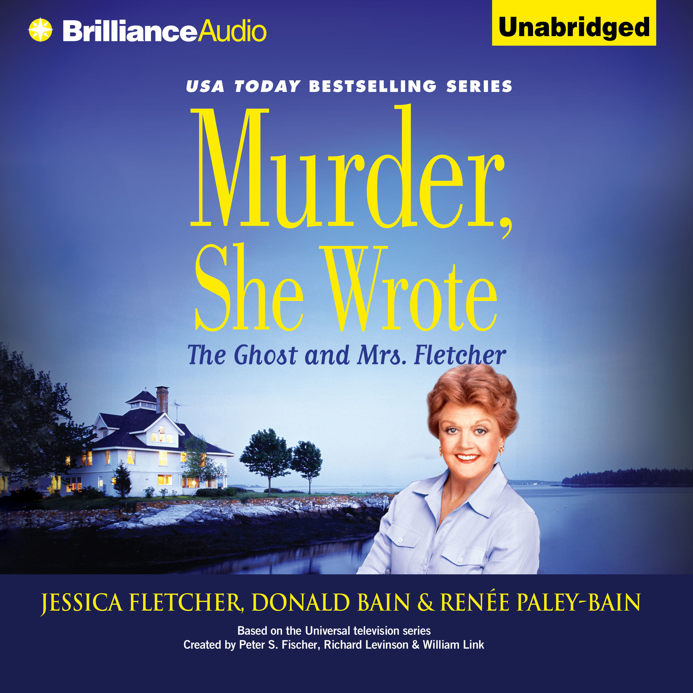 Printable Murder, She Wrote: The Ghost and Mrs. Fletcher Audiobook Cover Art
