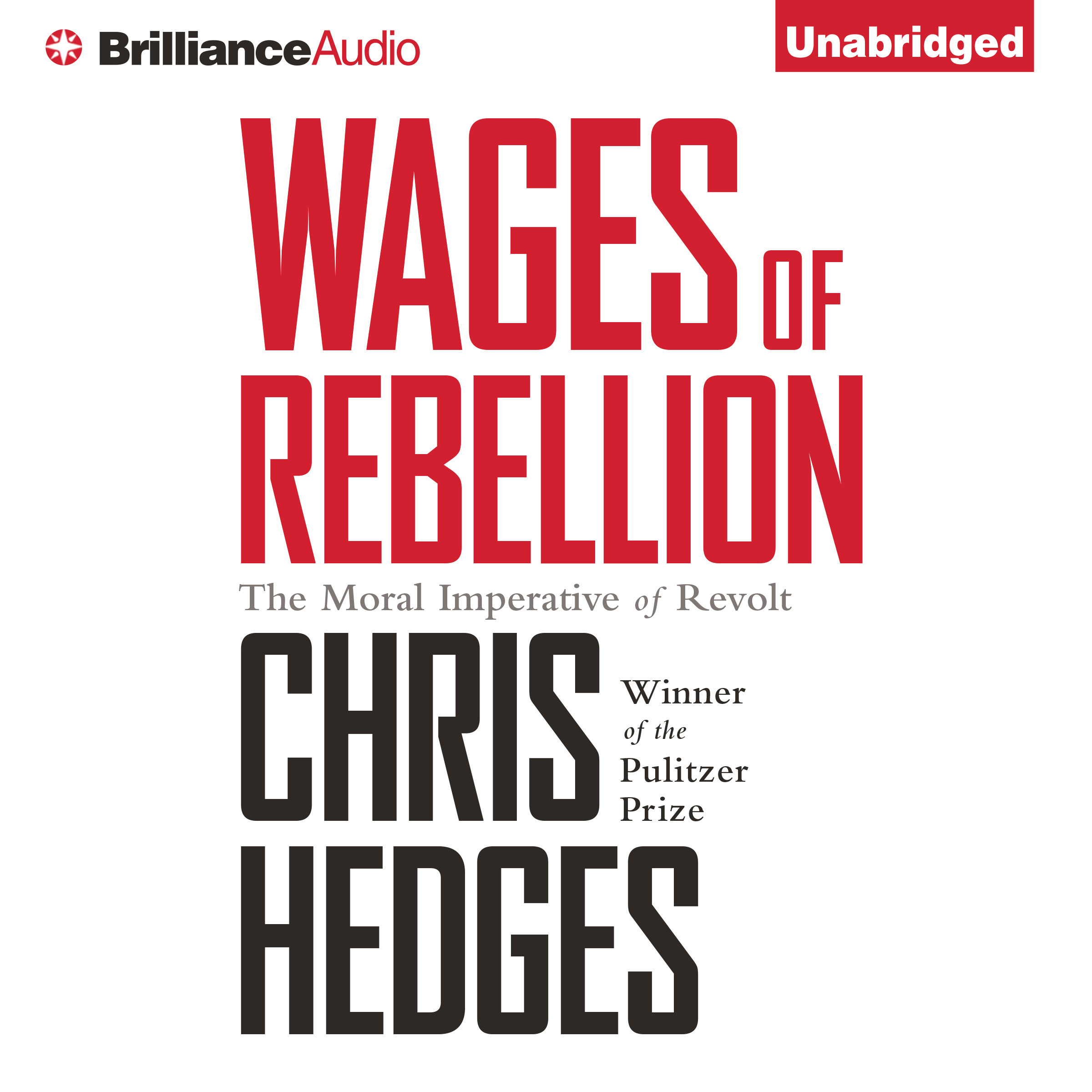 Printable Wages of Rebellion Audiobook Cover Art