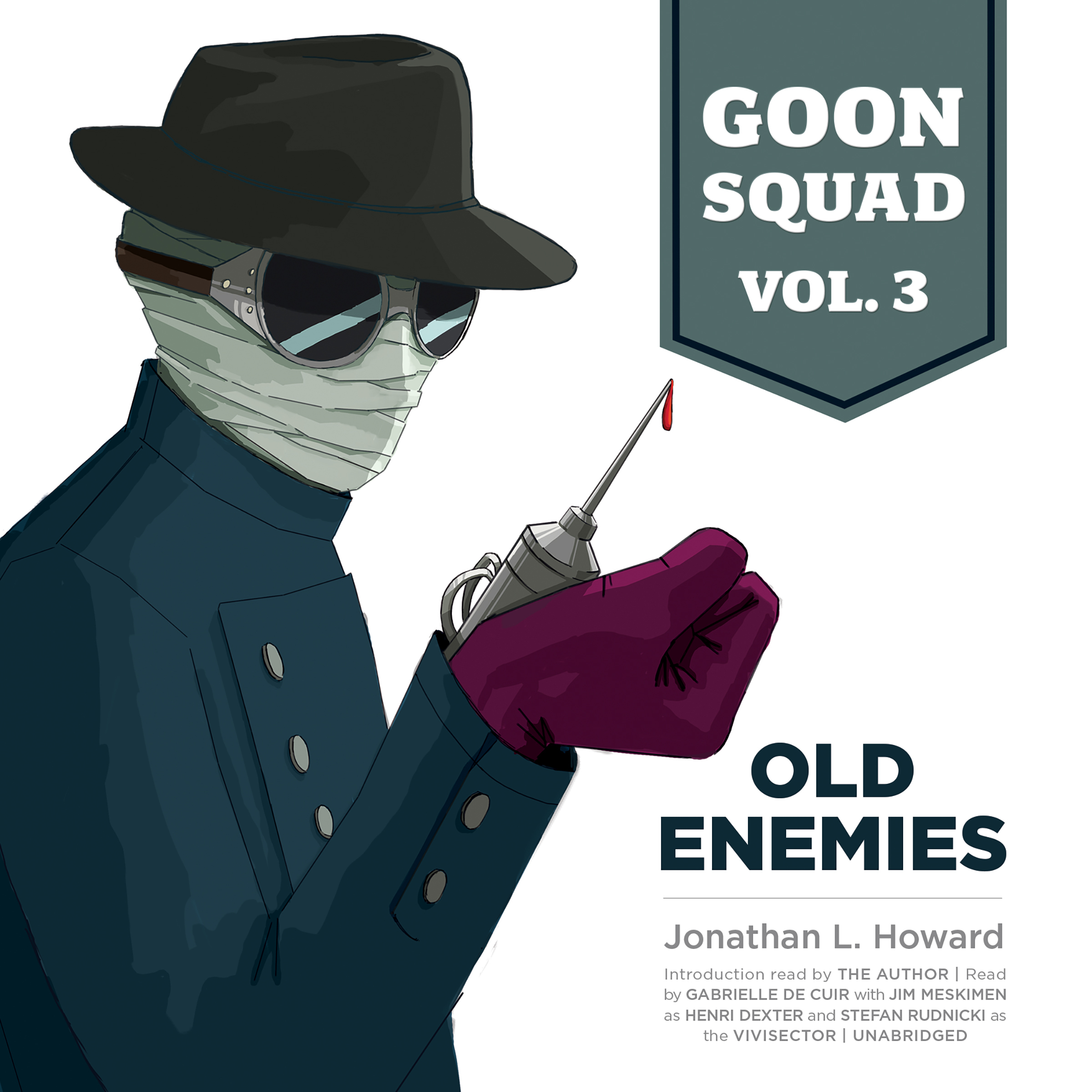 Printable Goon Squad, Vol. 3: Old Enemies Audiobook Cover Art