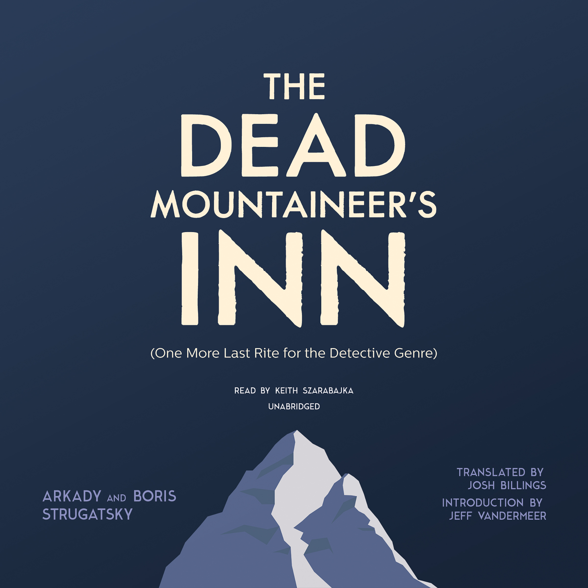 Printable The Dead Mountaineer's Inn: (One More Last Rite for the Detective Genre) Audiobook Cover Art