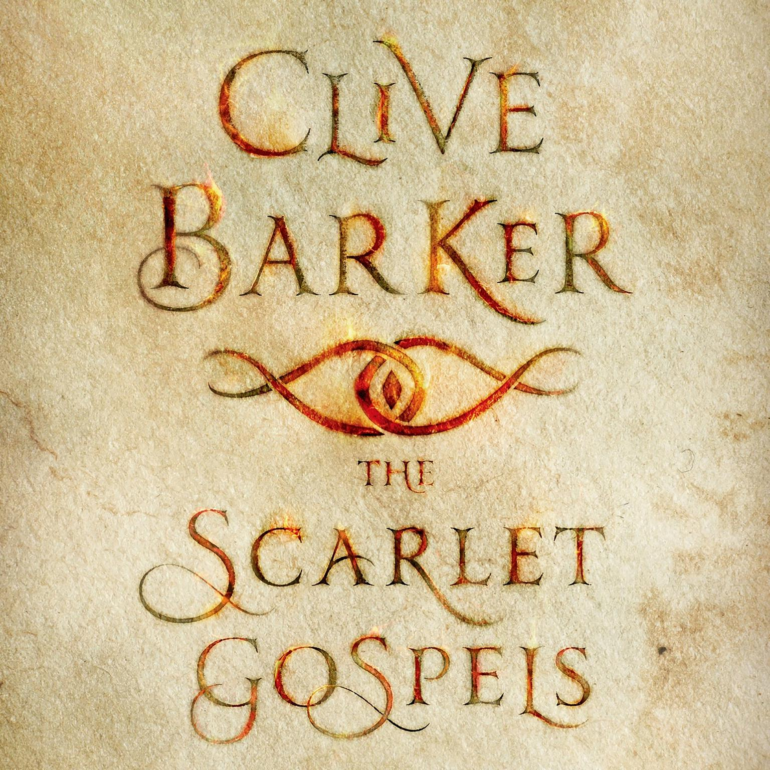 Printable The Scarlet Gospels Audiobook Cover Art