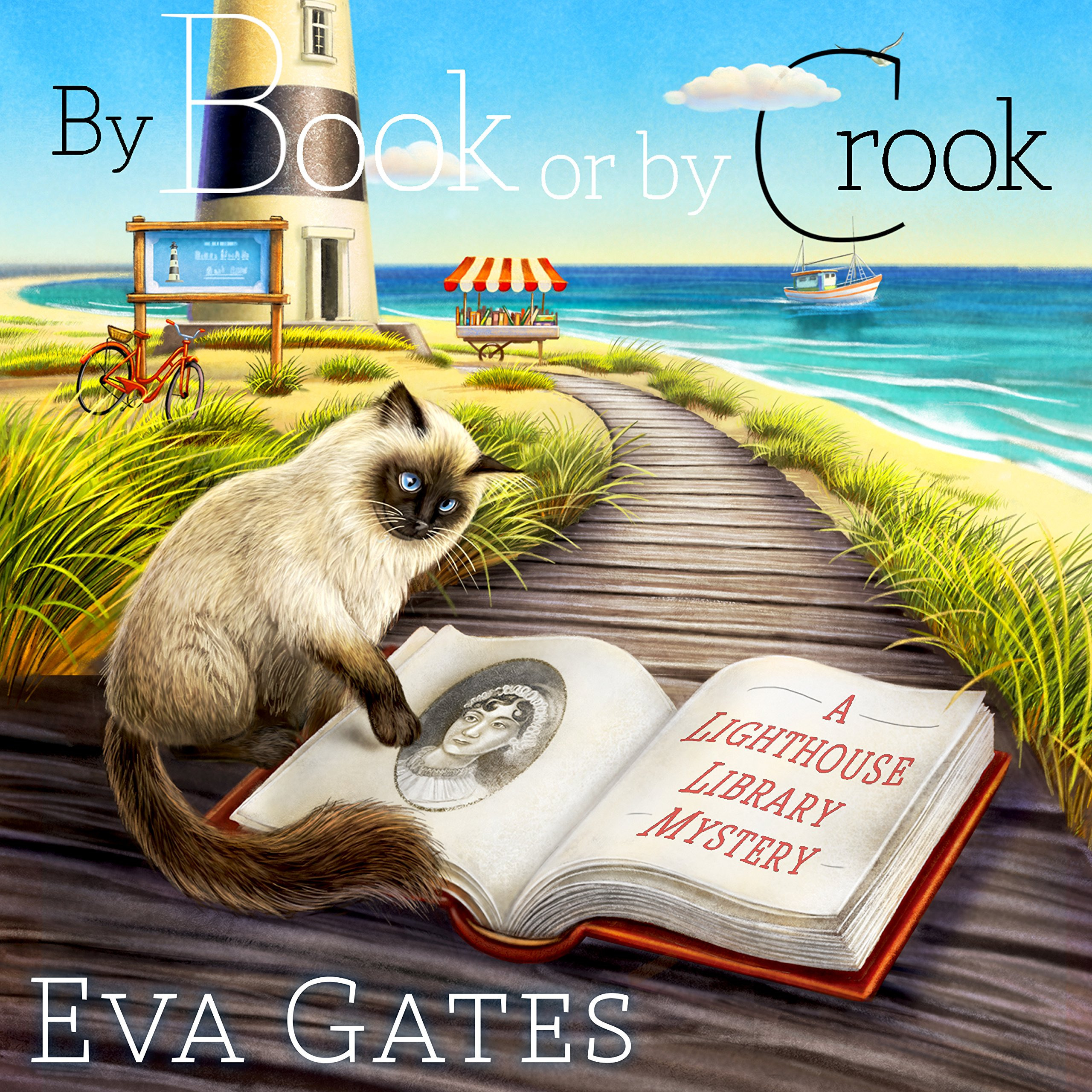 Printable By Book or by Crook Audiobook Cover Art