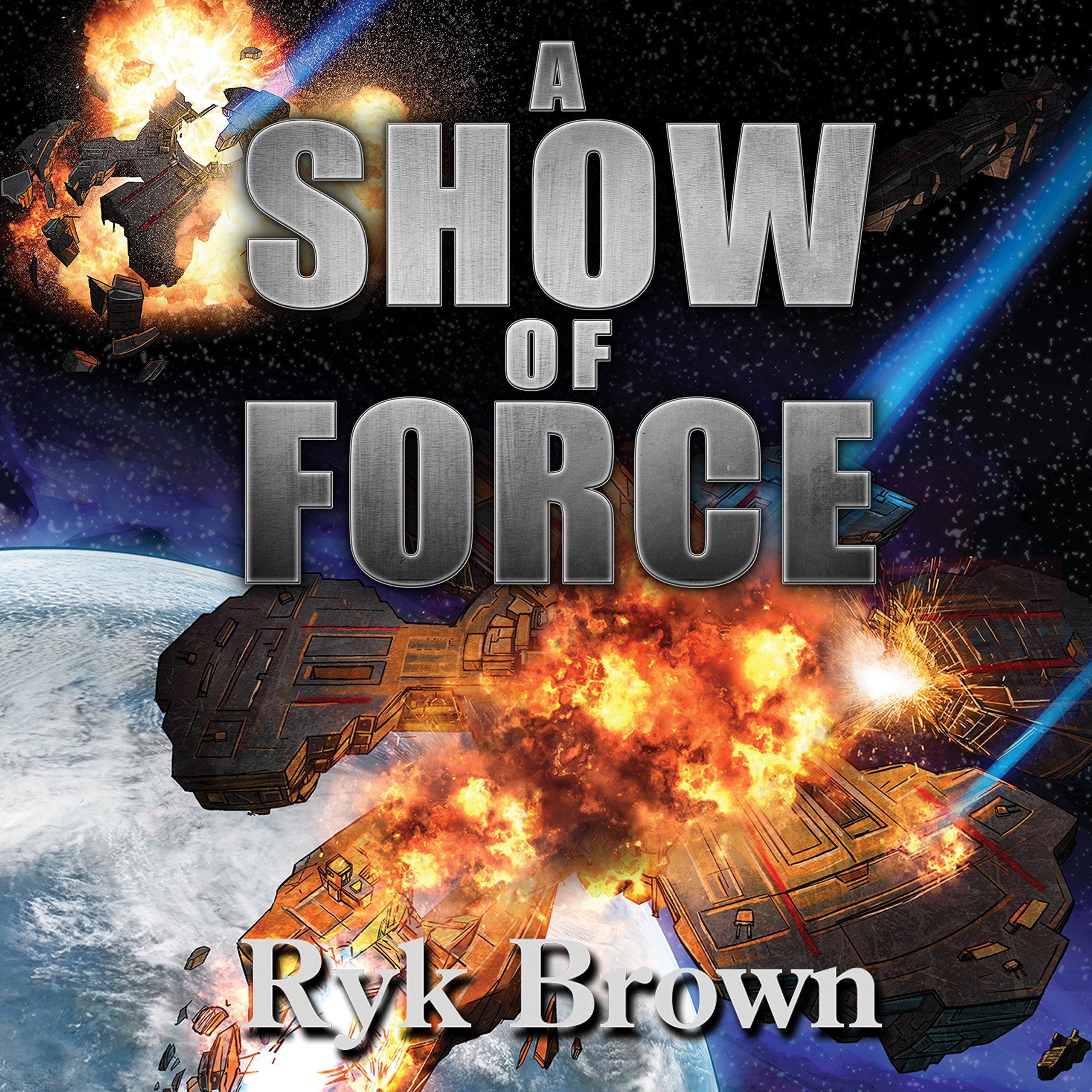 Printable A Show of Force Audiobook Cover Art