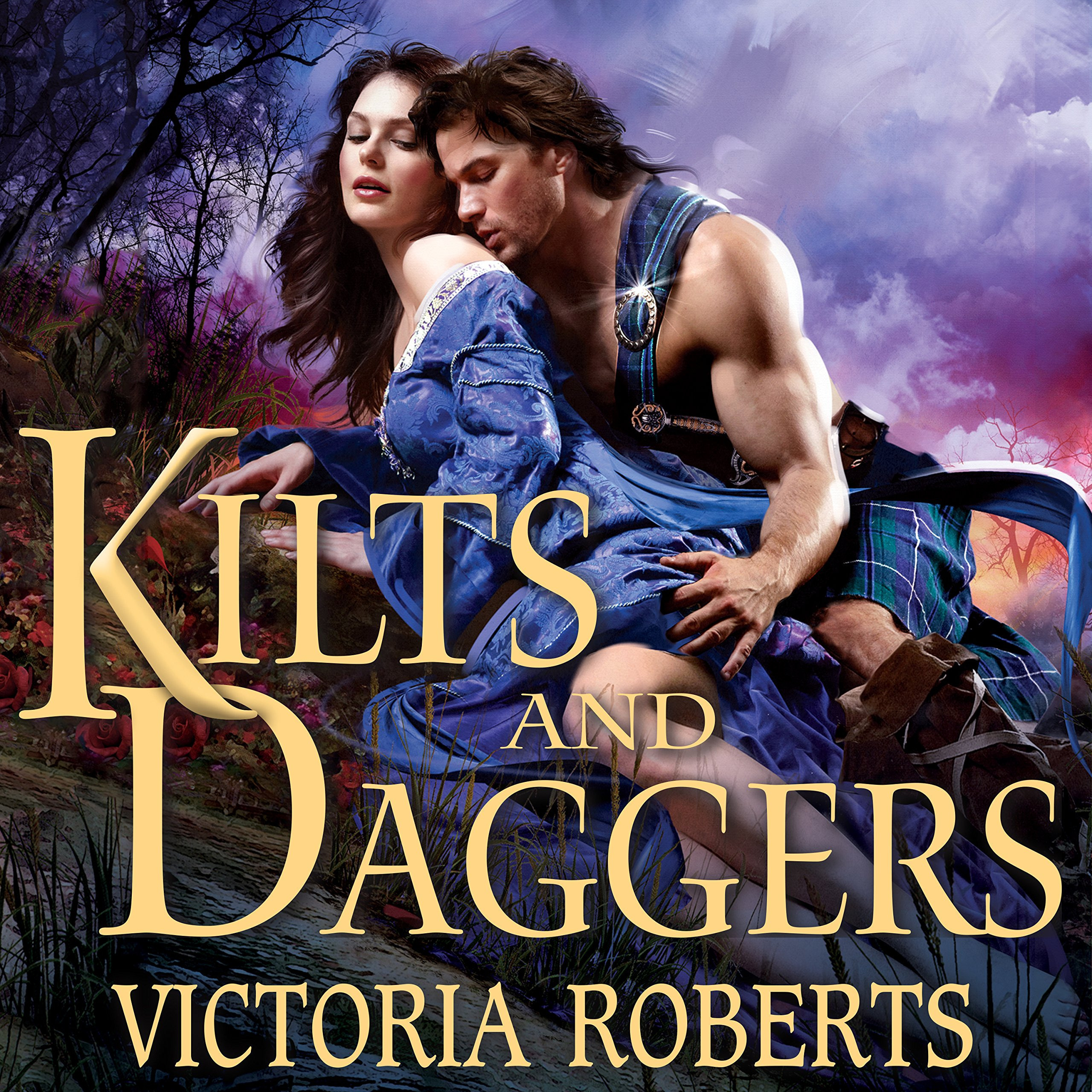 Printable Kilts and Daggers Audiobook Cover Art
