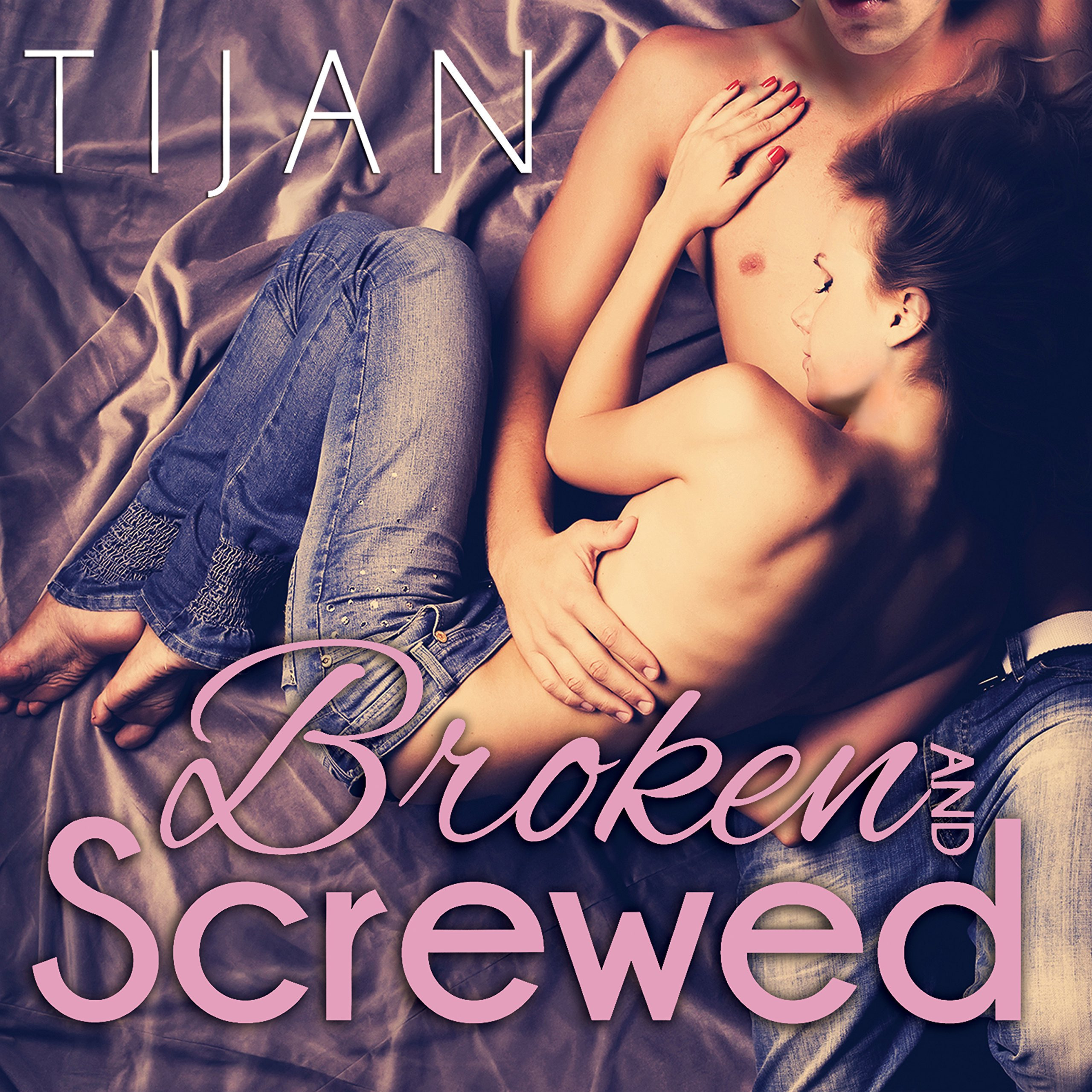 Printable Broken and Screwed Audiobook Cover Art