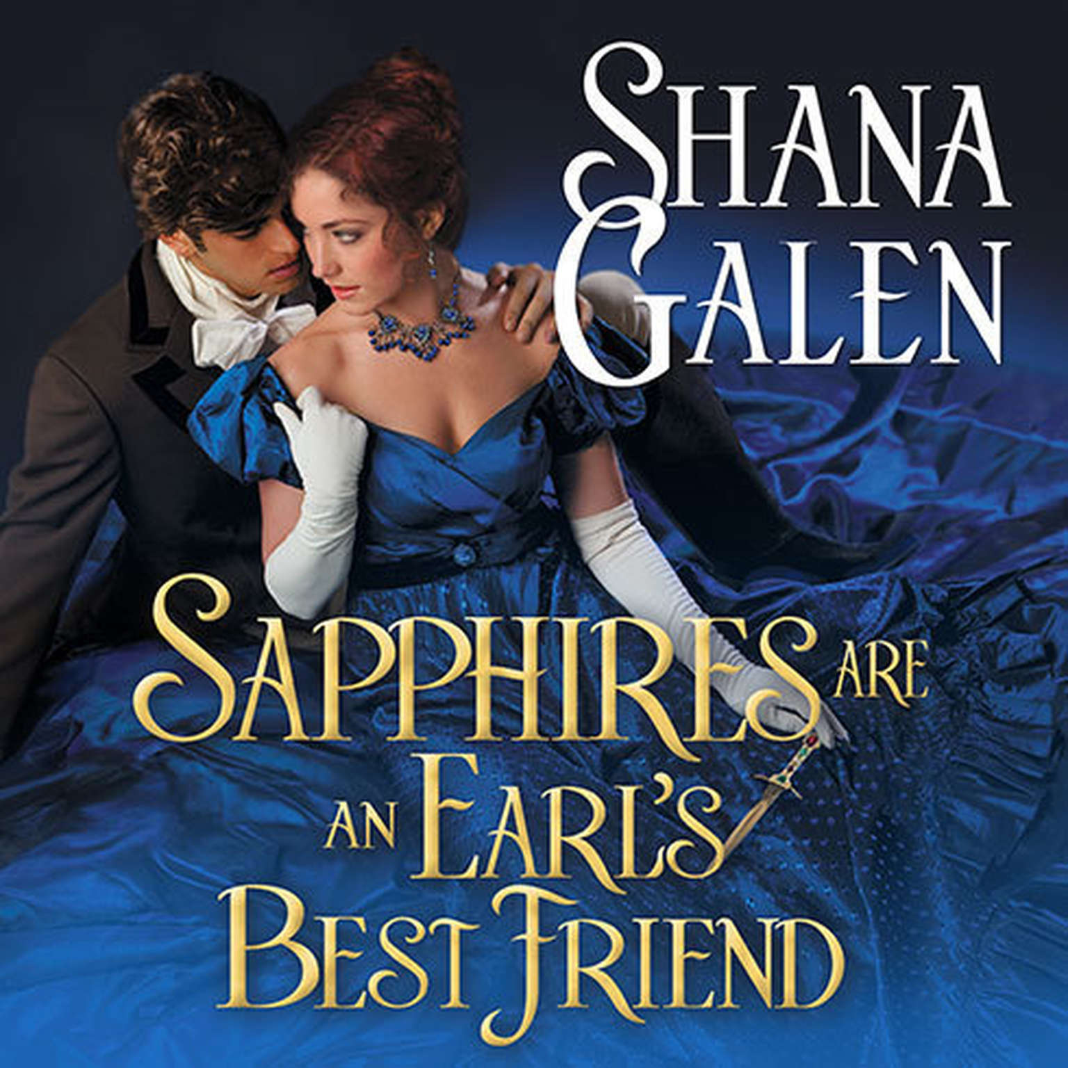 Printable Sapphires Are an Earl's Best Friend Audiobook Cover Art