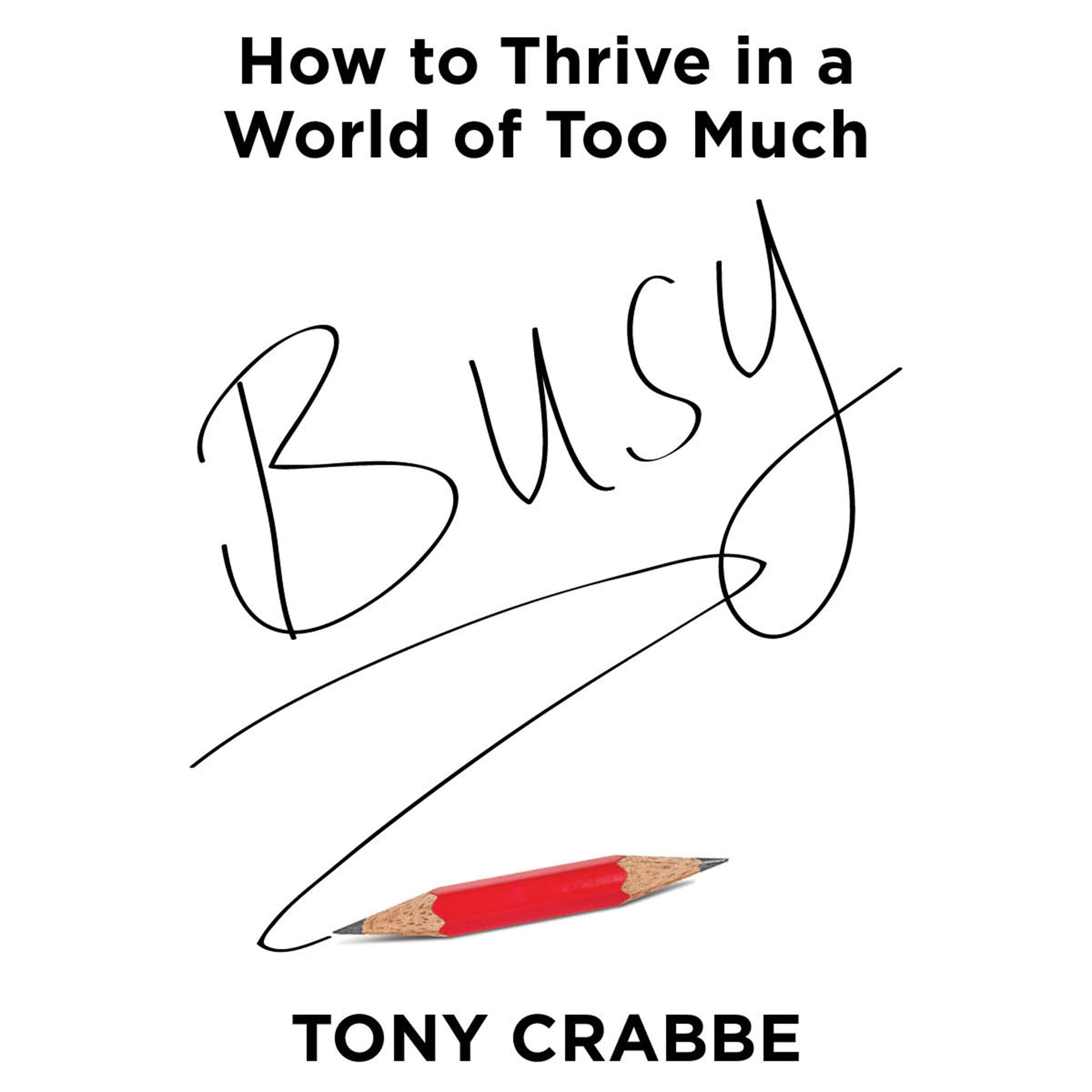 Printable Busy: How to Thrive in a World of Too Much Audiobook Cover Art